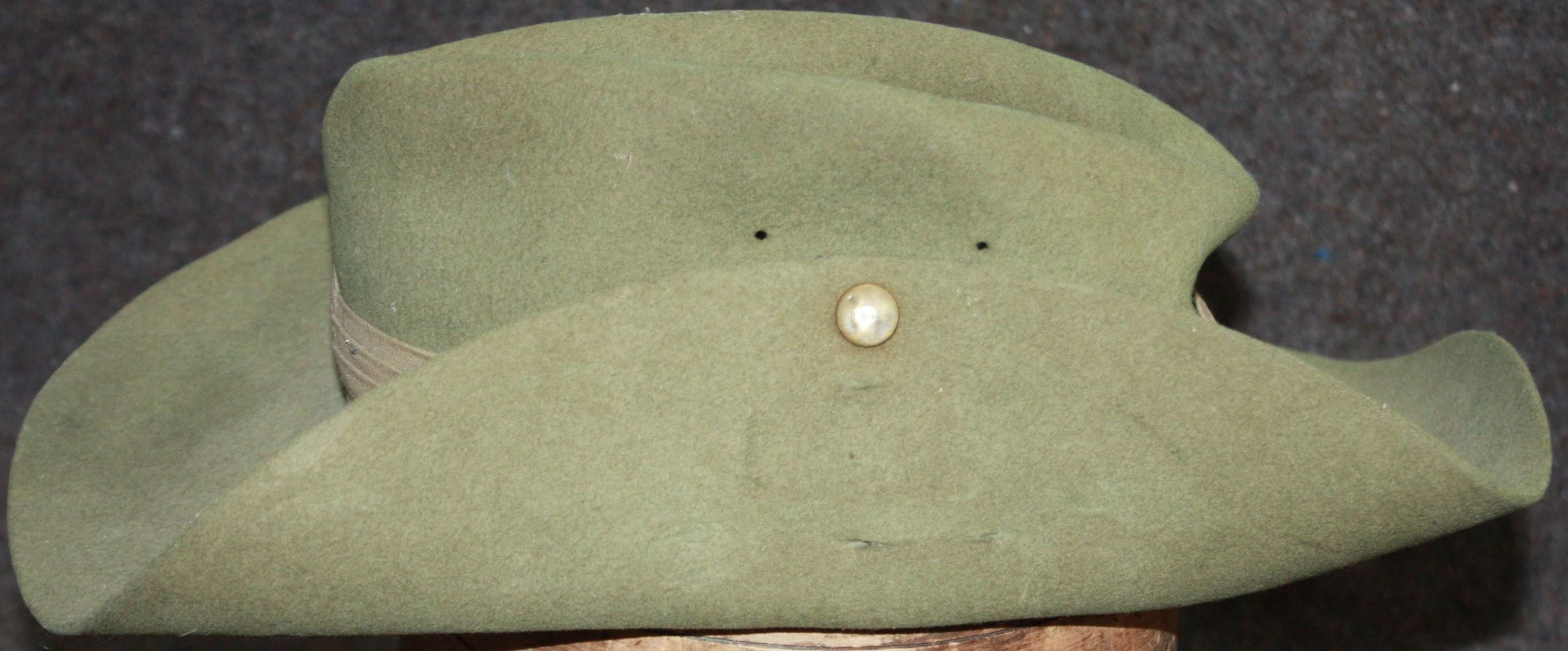 A WWII PERIOD SLOUCH HAT