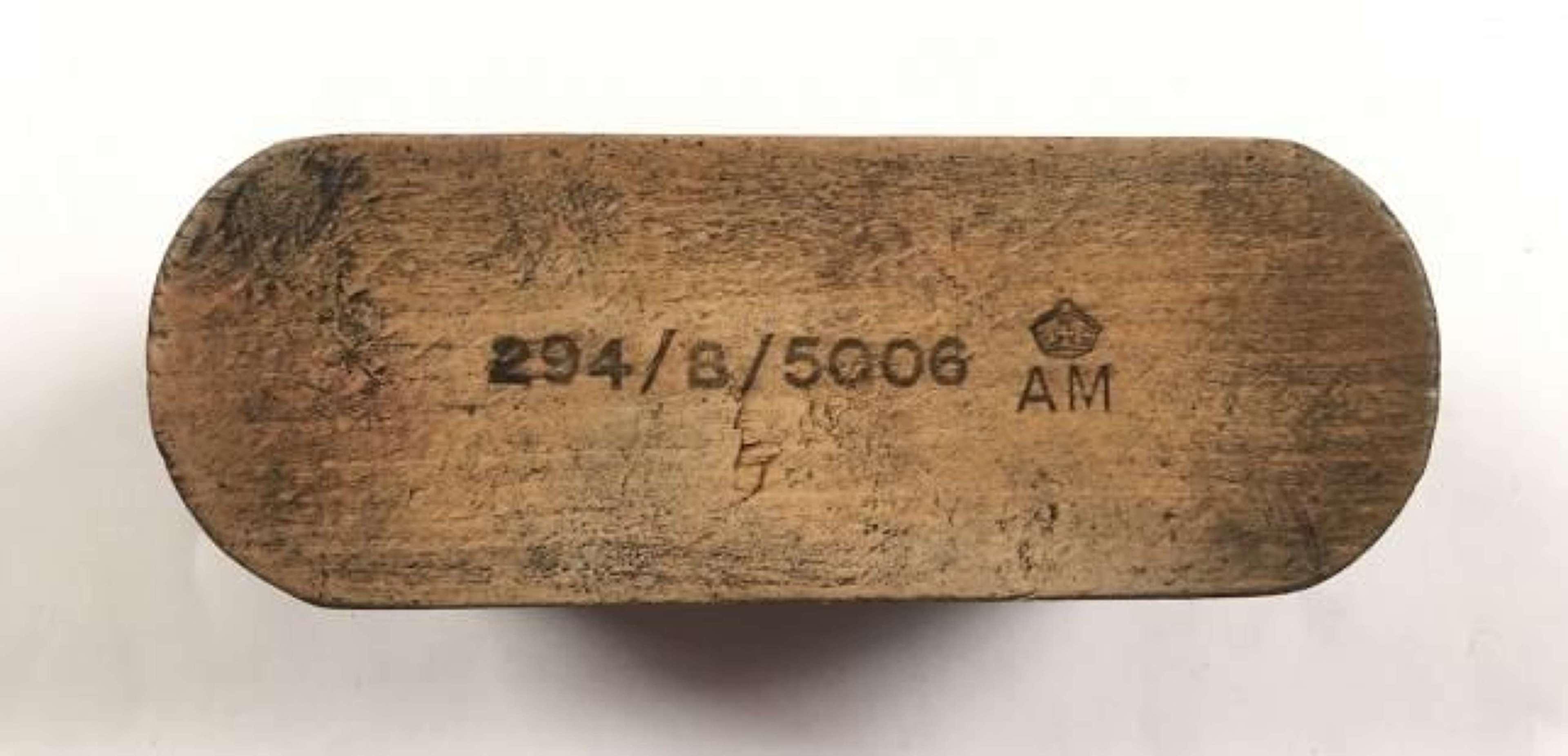 WW2 1940 RAF Issue Boot Brush.