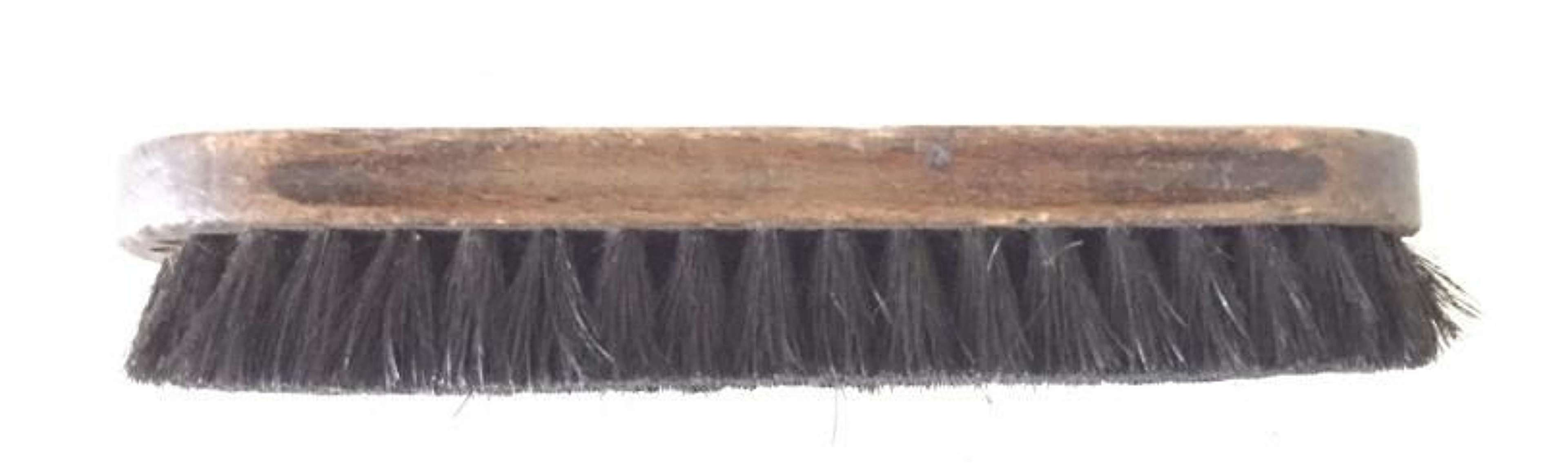 WW1 1914 War Department Issue Large Boot Brush.