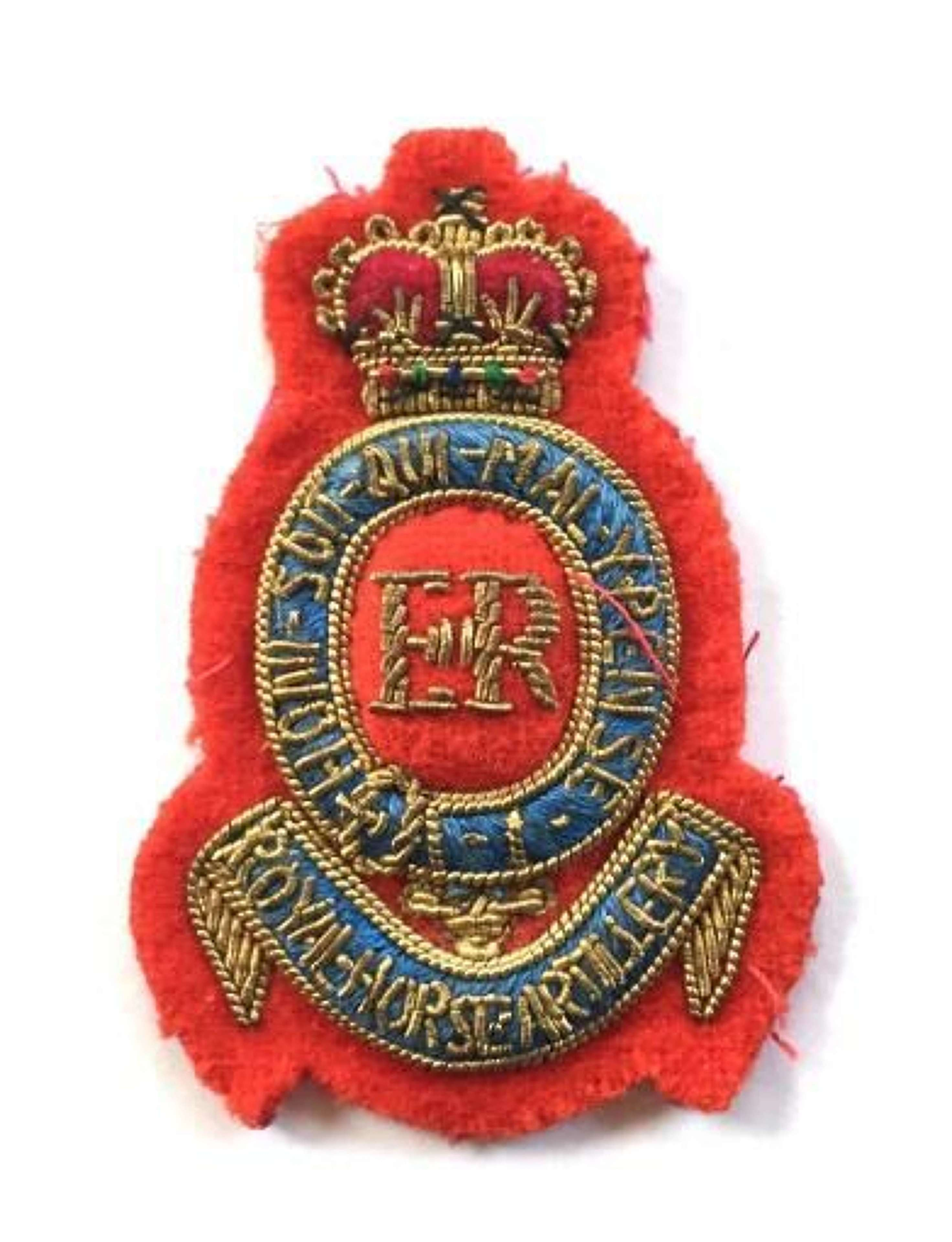 Royal Horse Artillery Eiir Officer S Beret Badge In Corps Services Badges