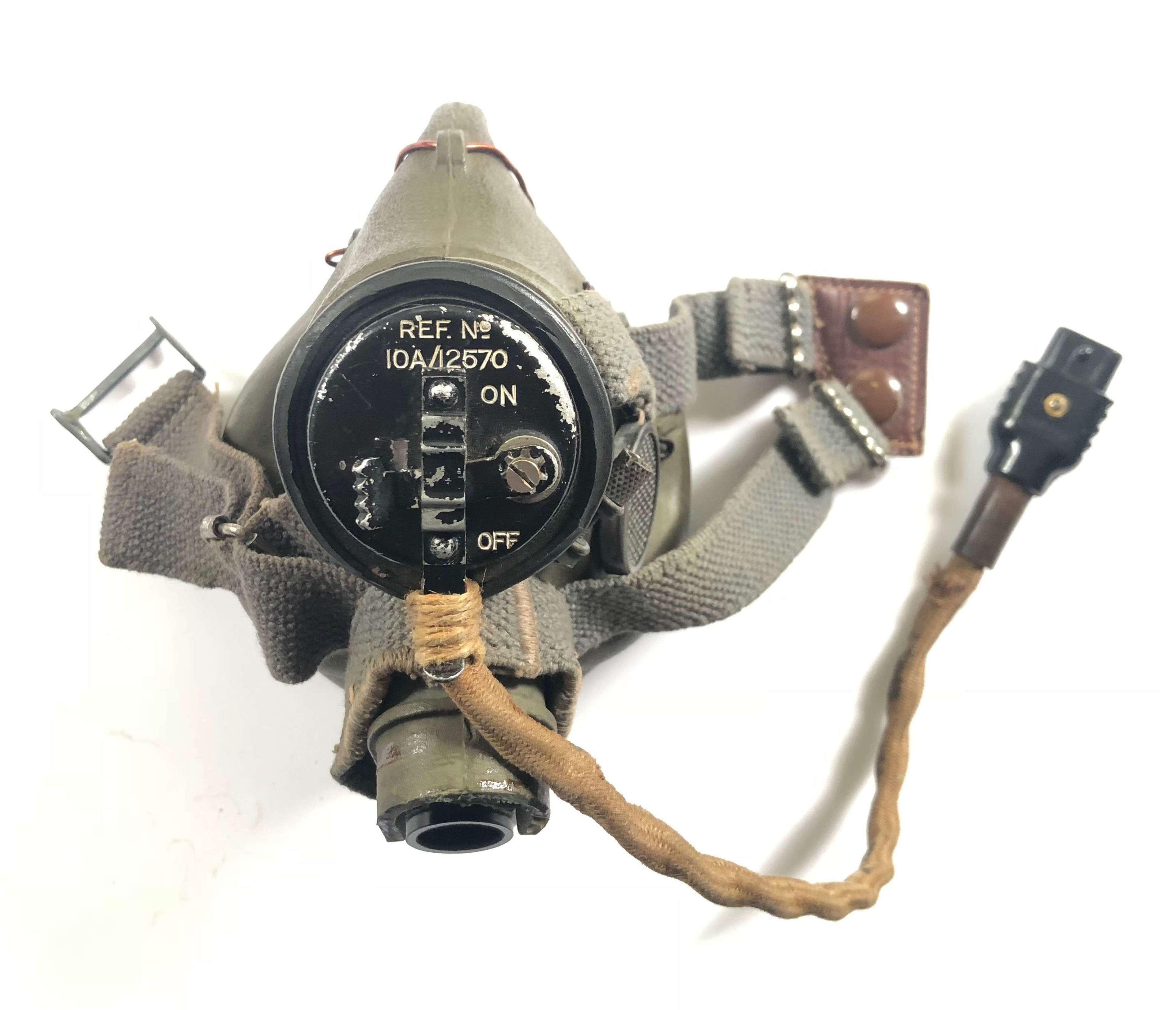 WW2 RAF Aircrew G Type Oxygen Mask.