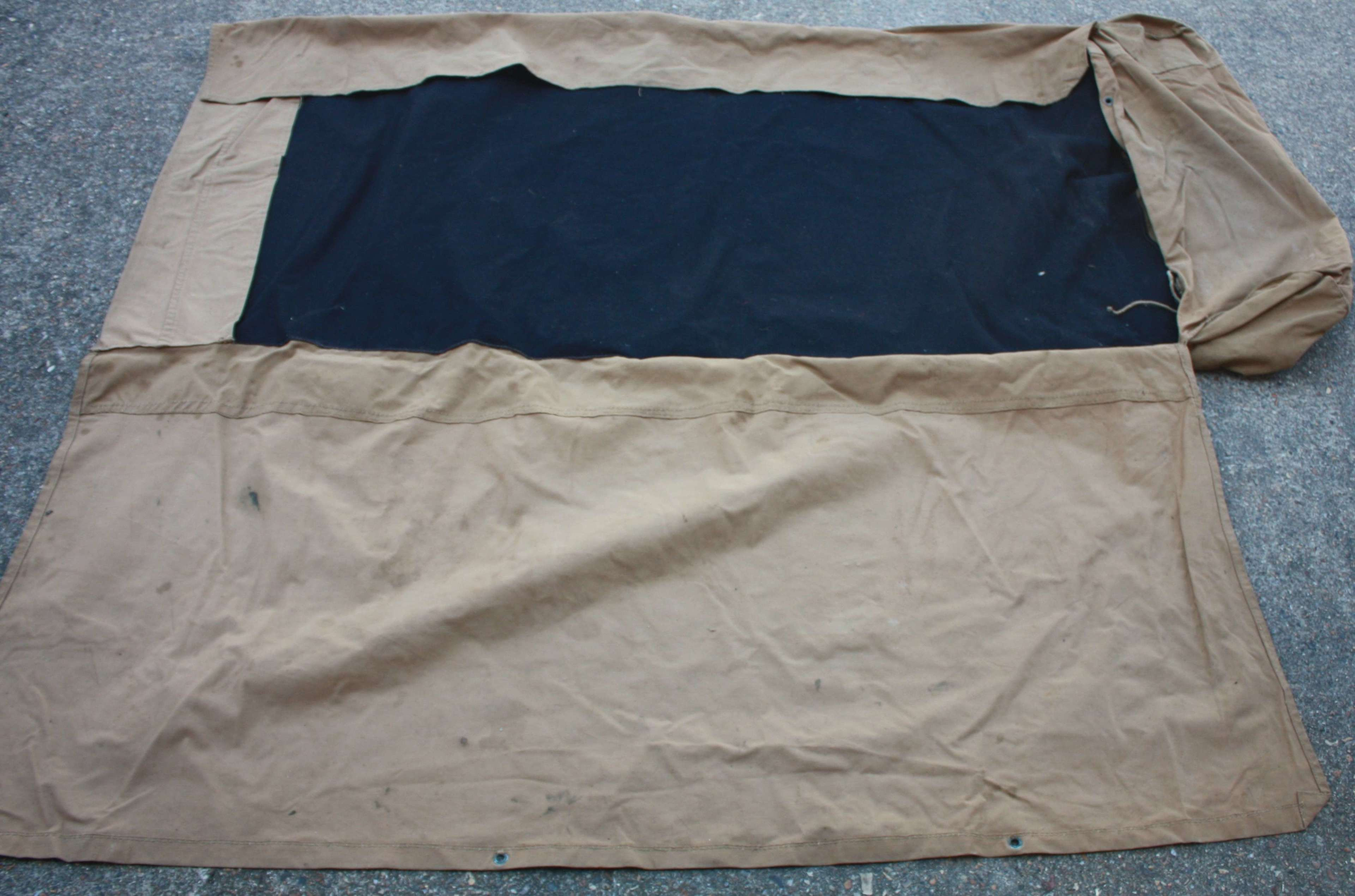 A TAN 1944 DATED BED ROLL