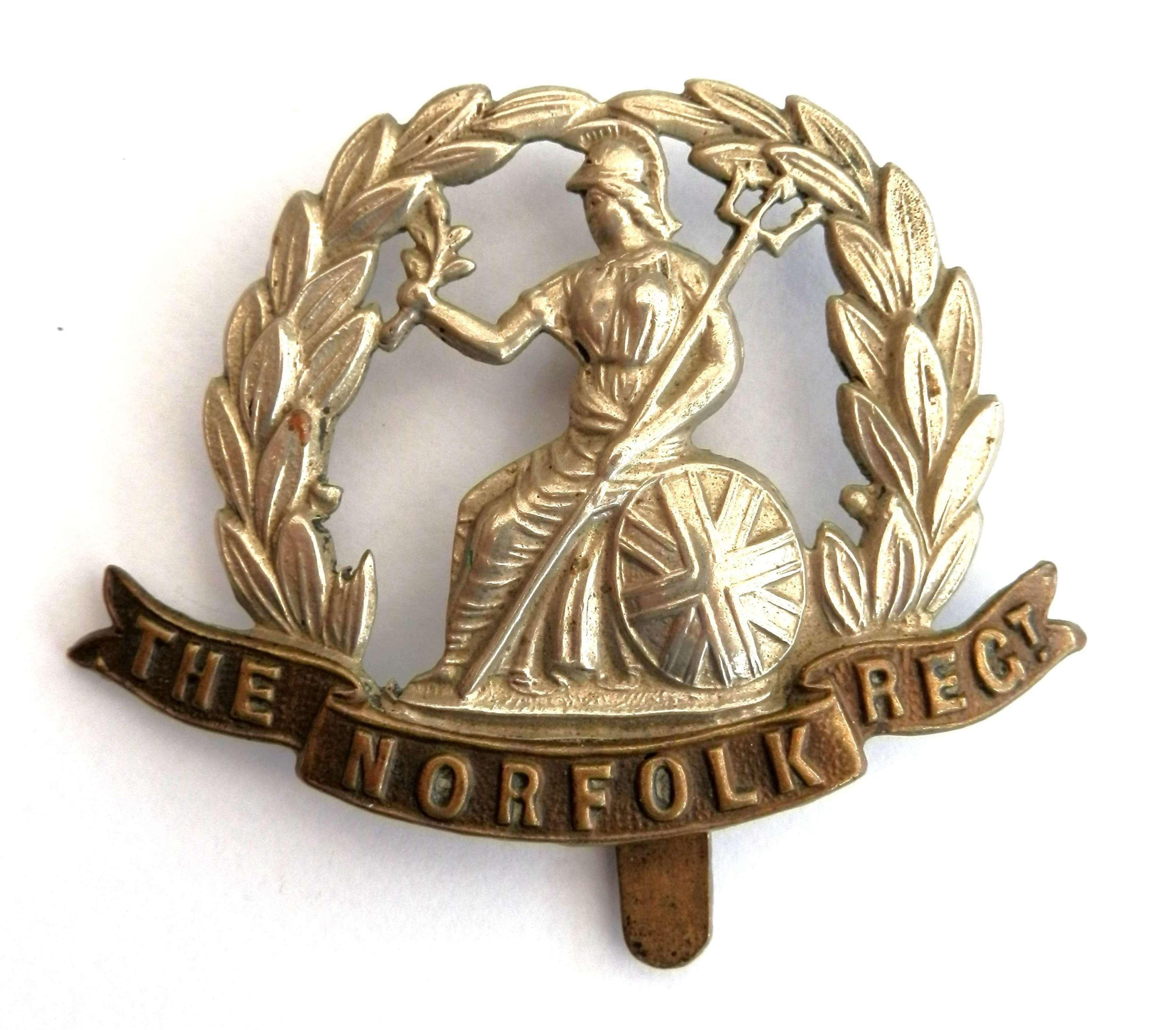 The Norfolk Regiment Cap Badge