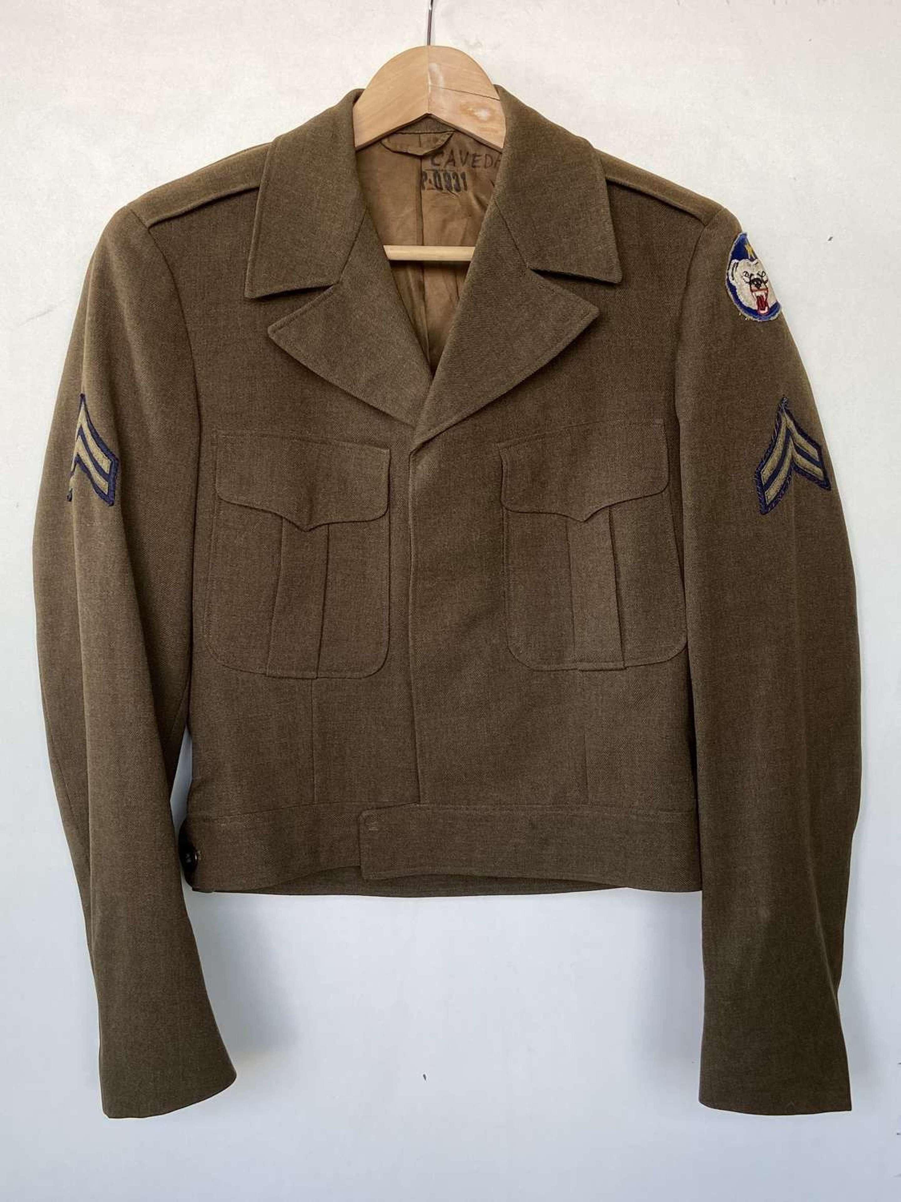 WW2 1949 Korean War Alasaka Defence Command Jacket
