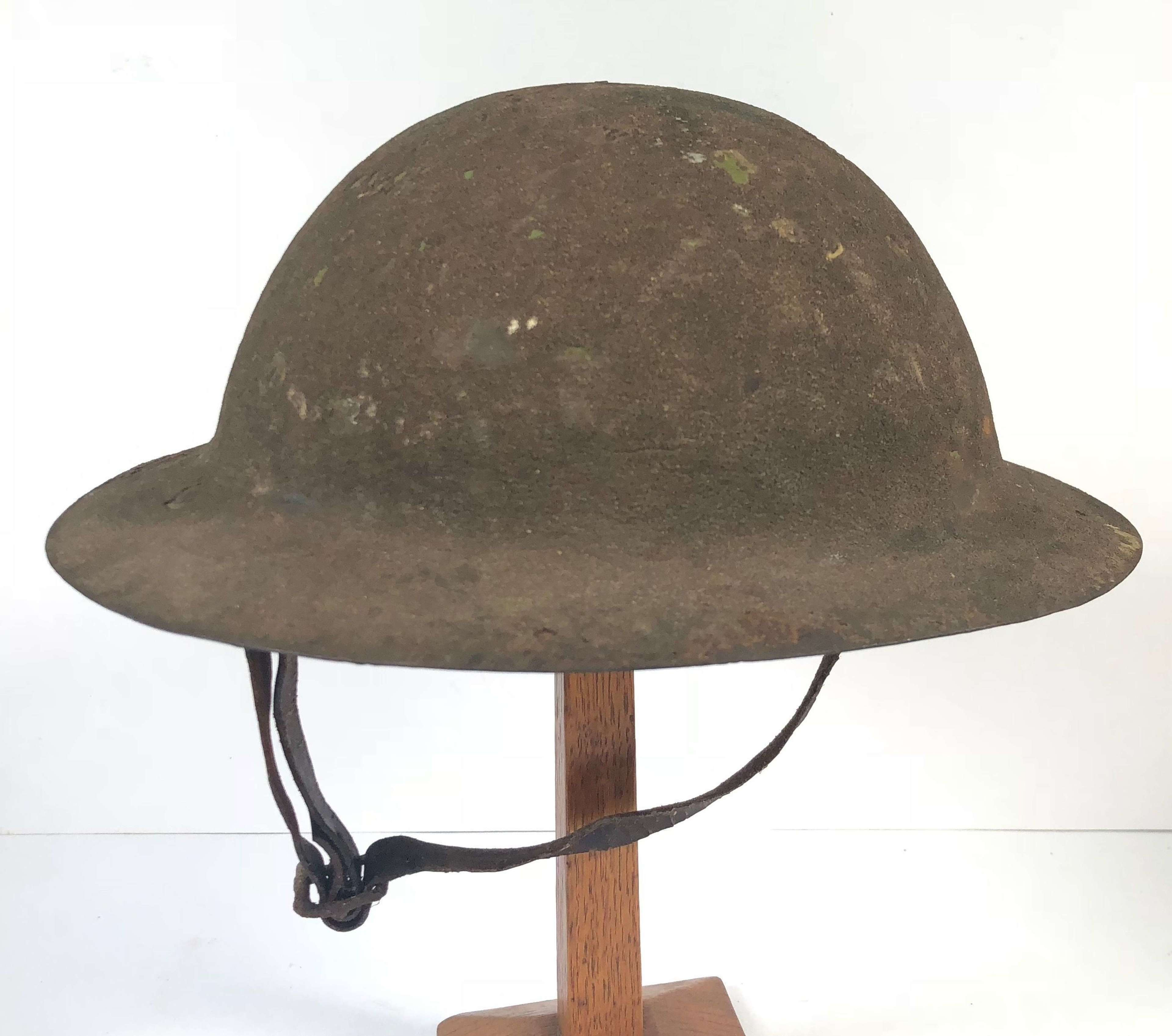 WW1 Battle of the Somme Period A Pattern Raw Edge Brodie Steel Helmet