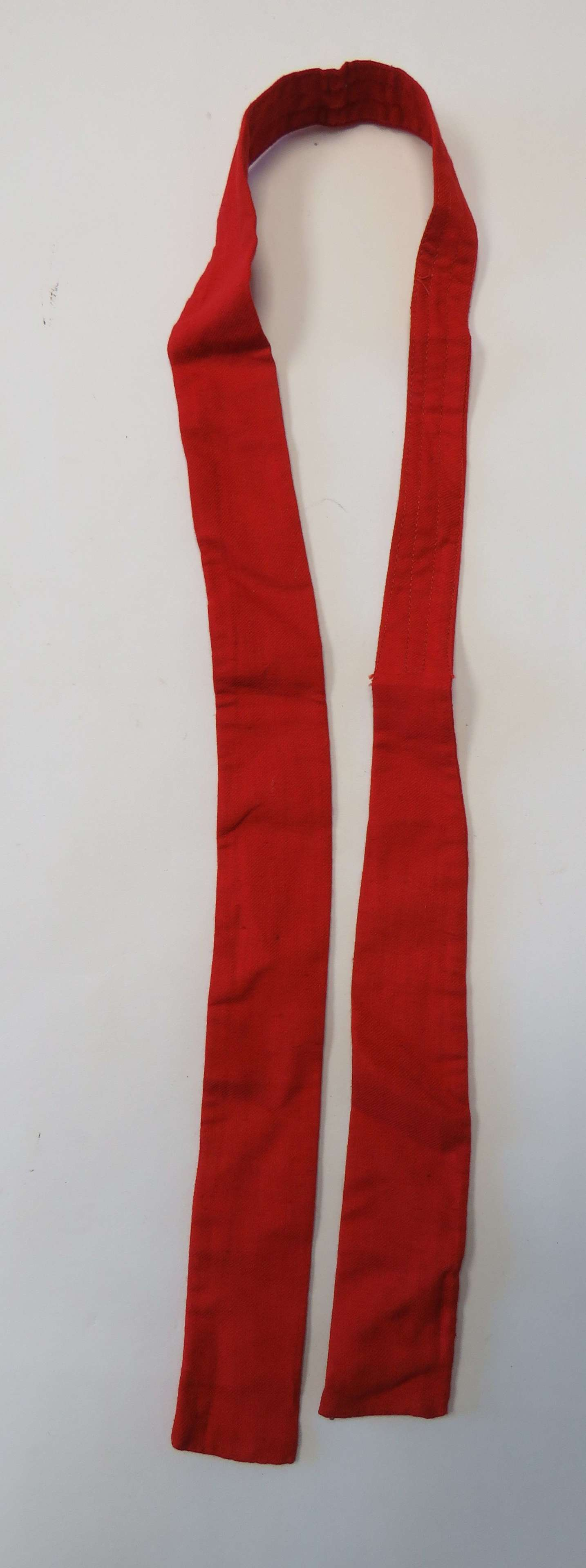 WW1 / WW2 Red Wounded Soldiers Hospital Tie