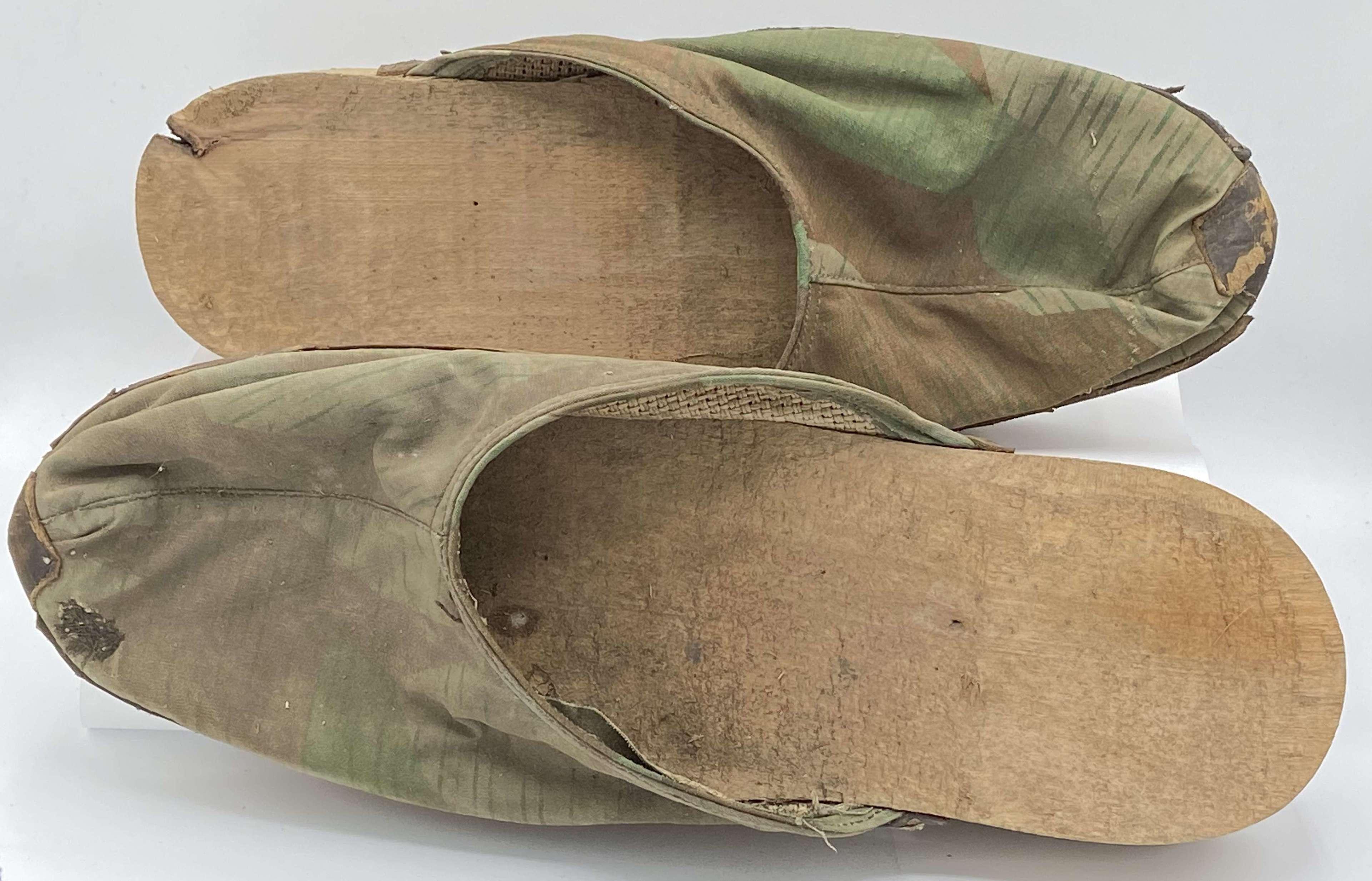 WW2 German Handmade unissued Concentration Camp KZ Reichenau Shoes