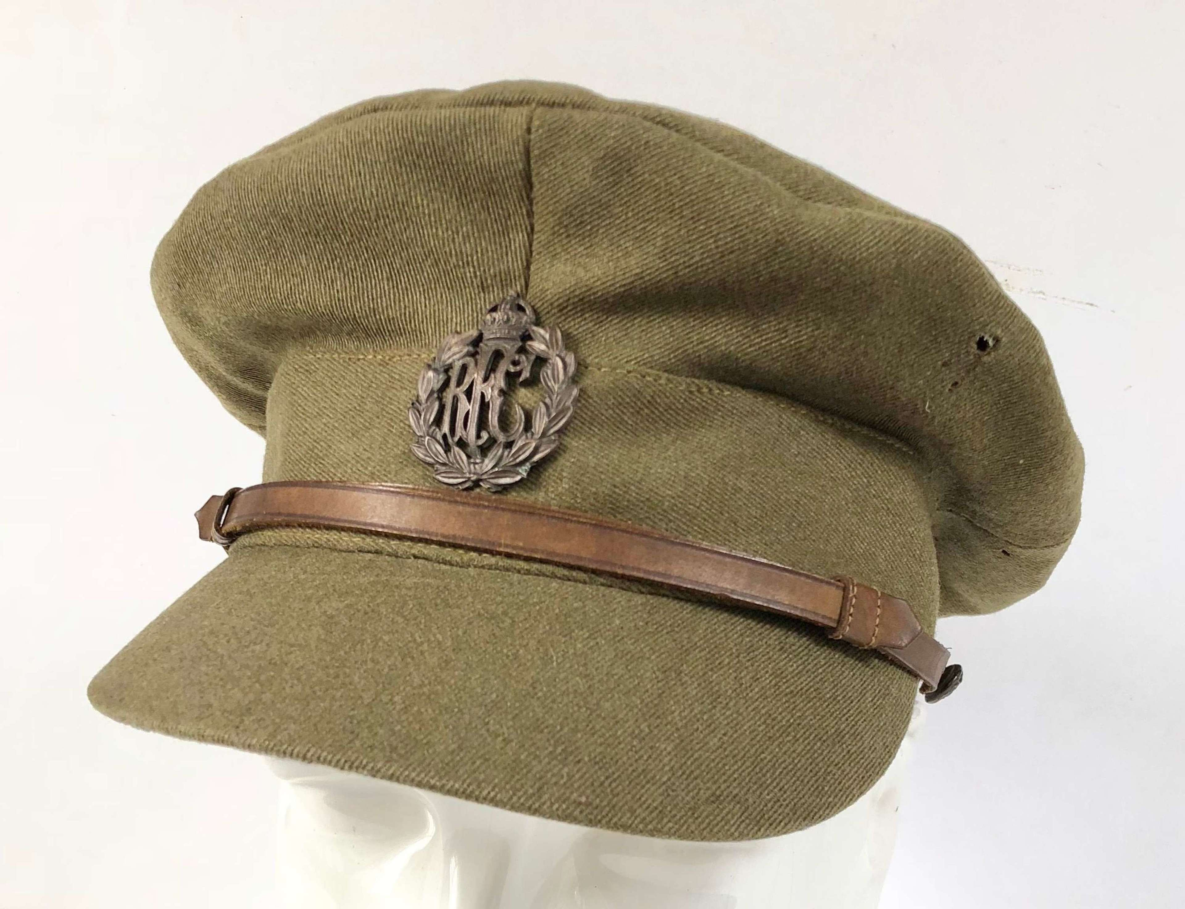"WW1 1918 issue  Royal Flying Corps RFC Officer's ""Floppy"" Trench"