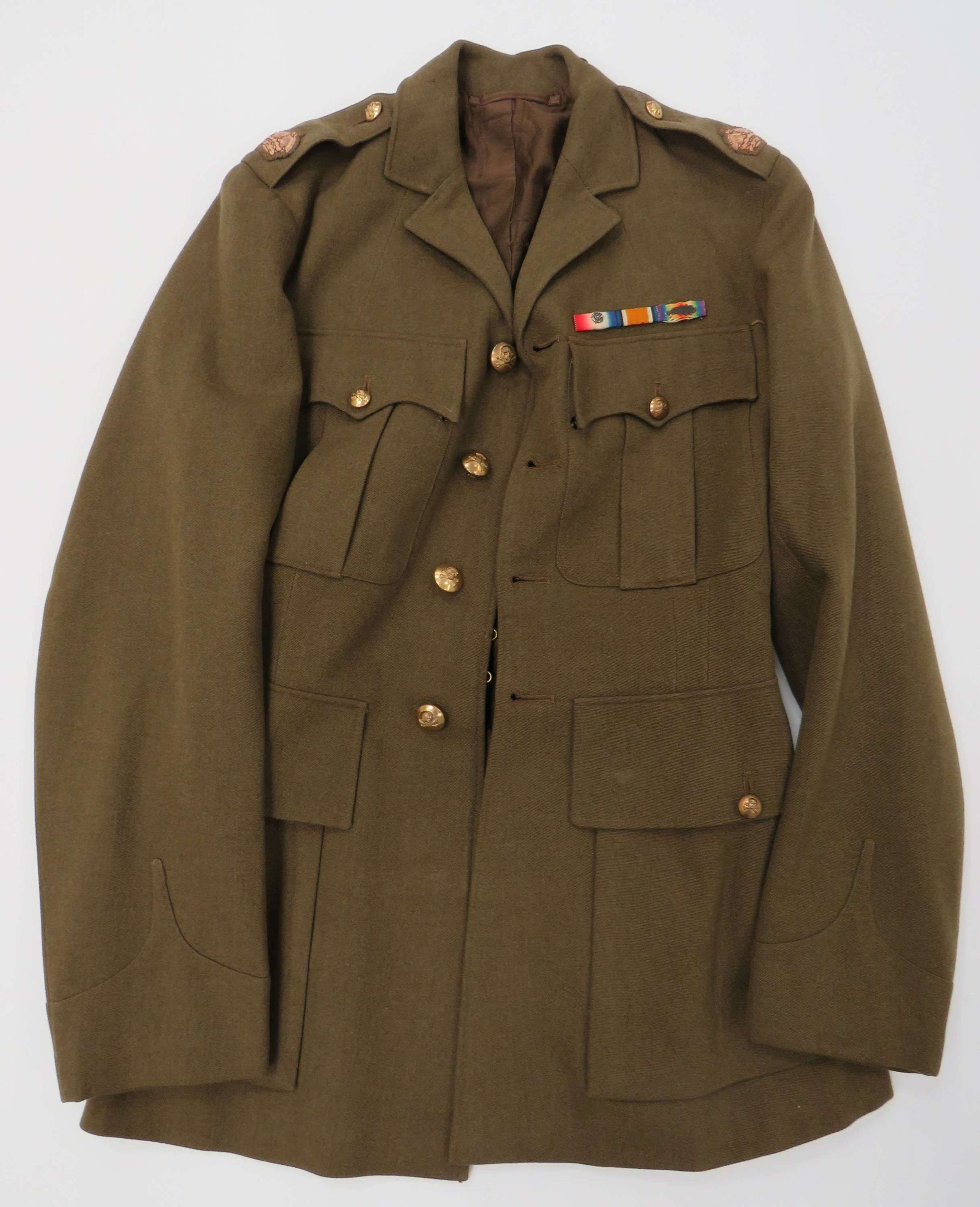 WW2 Officers 17/21st Lancers Service Dress Tunic