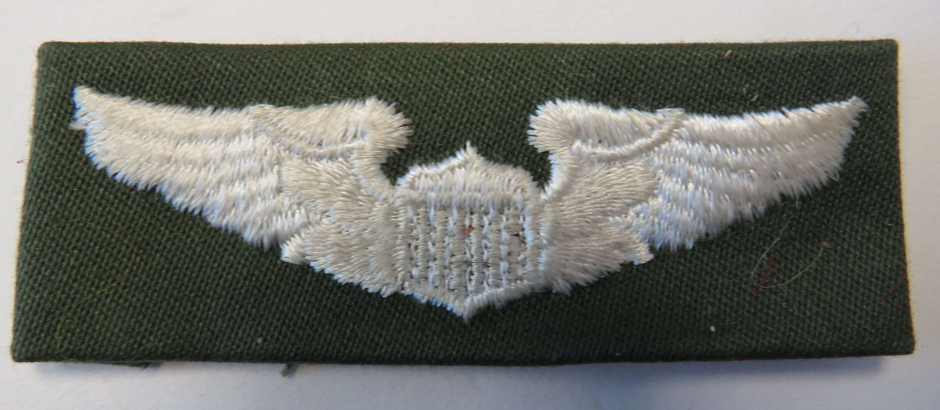 American Embroidery Pilots Wings