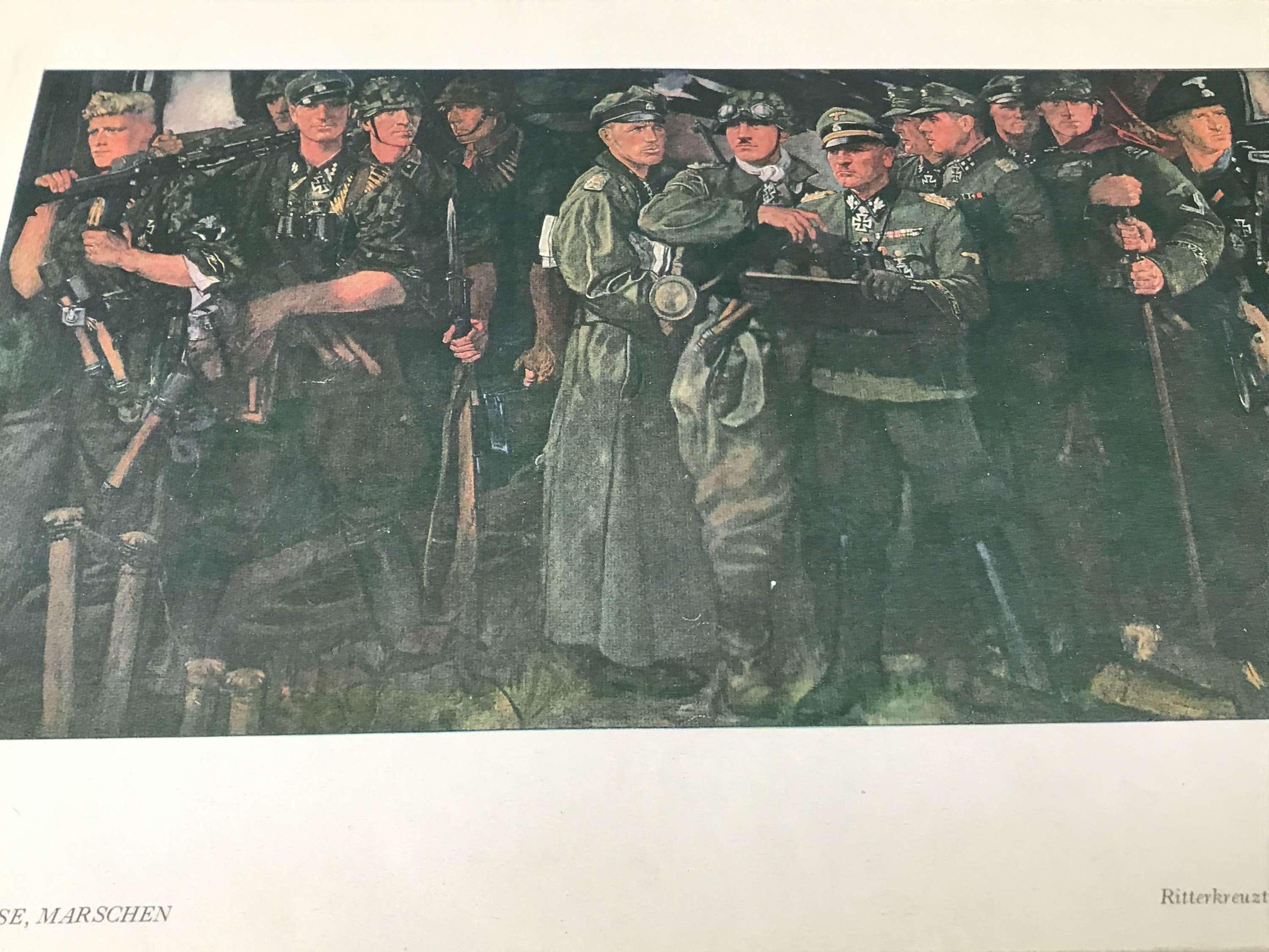 The Ritterkreuztrager der Liebstandarte SS Adolf Hitler