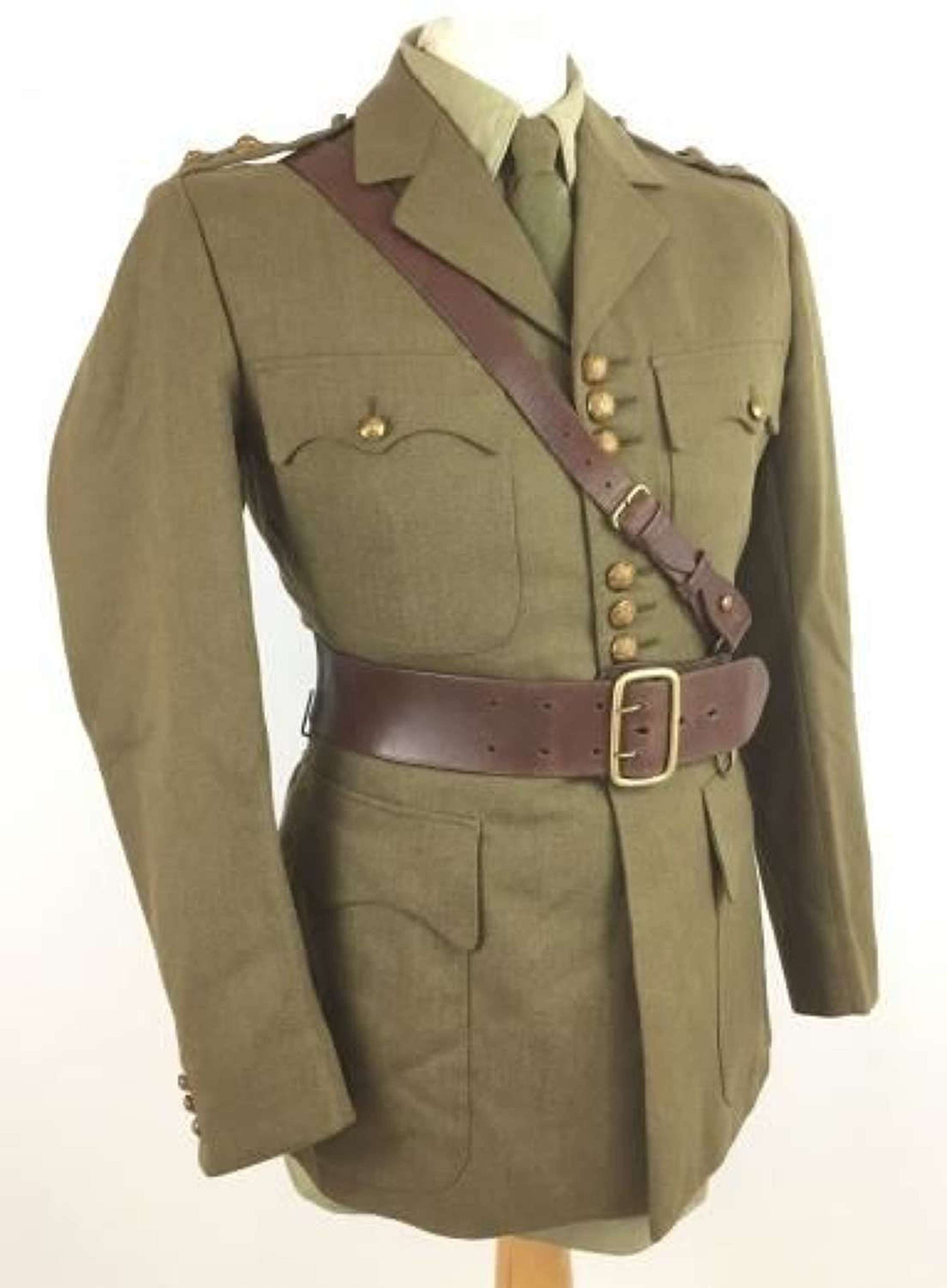 Original 1944 Dated Scots Guards Tunic Worn By Actor Rex Harrison