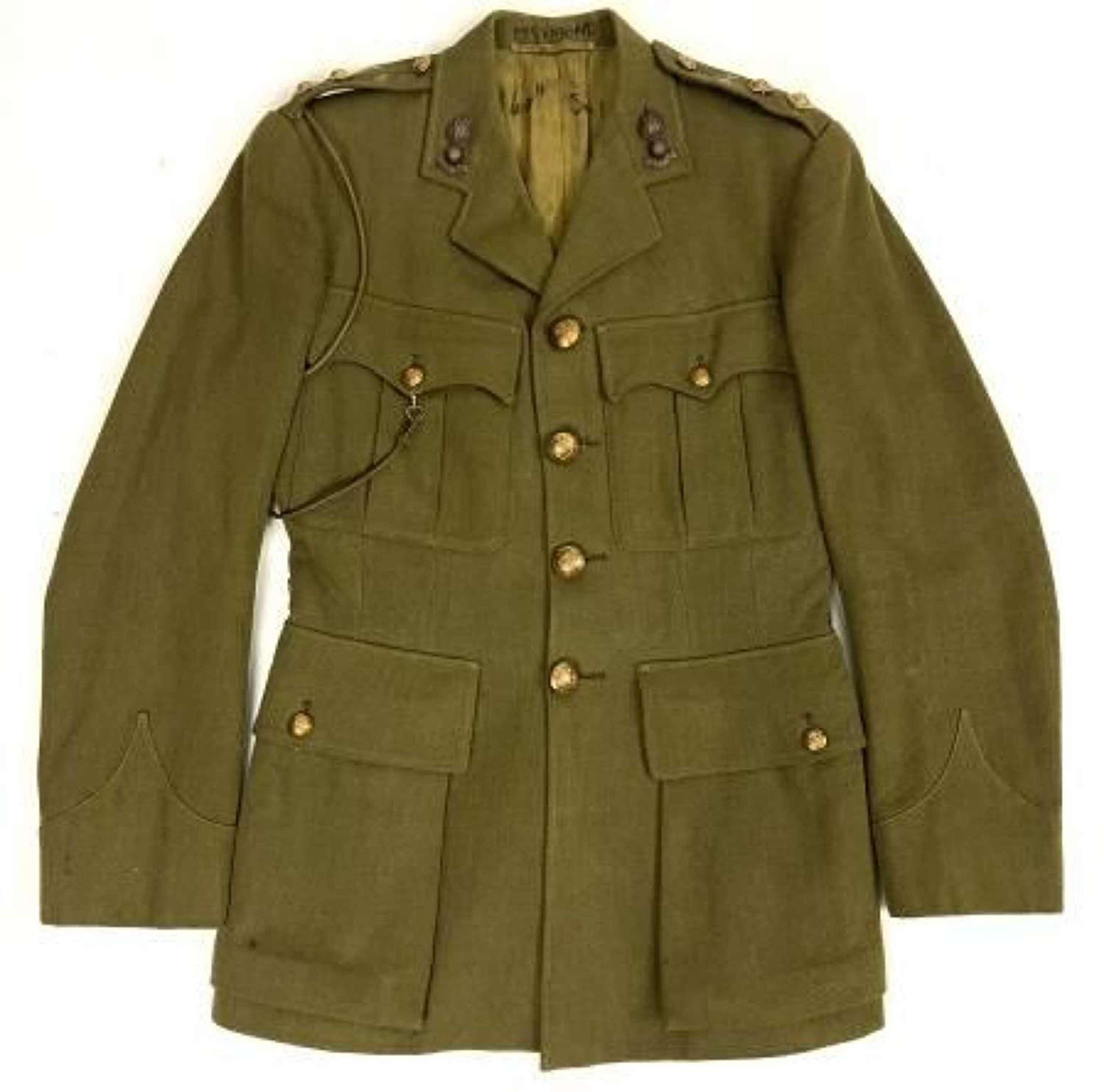 Original WW2 Royal Engineers Officers Service Dress Tunic