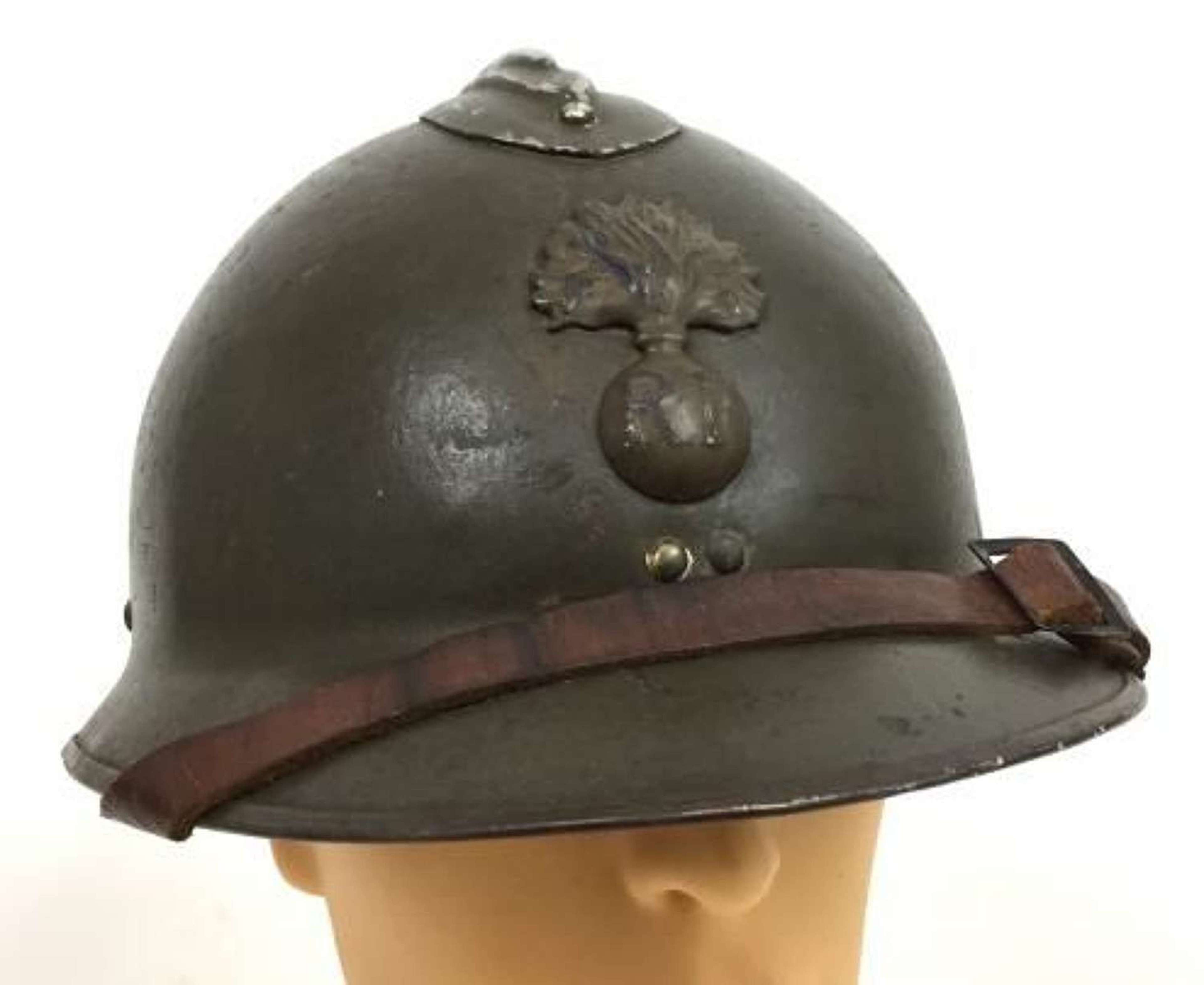 Original French M26 Adrian Helmet