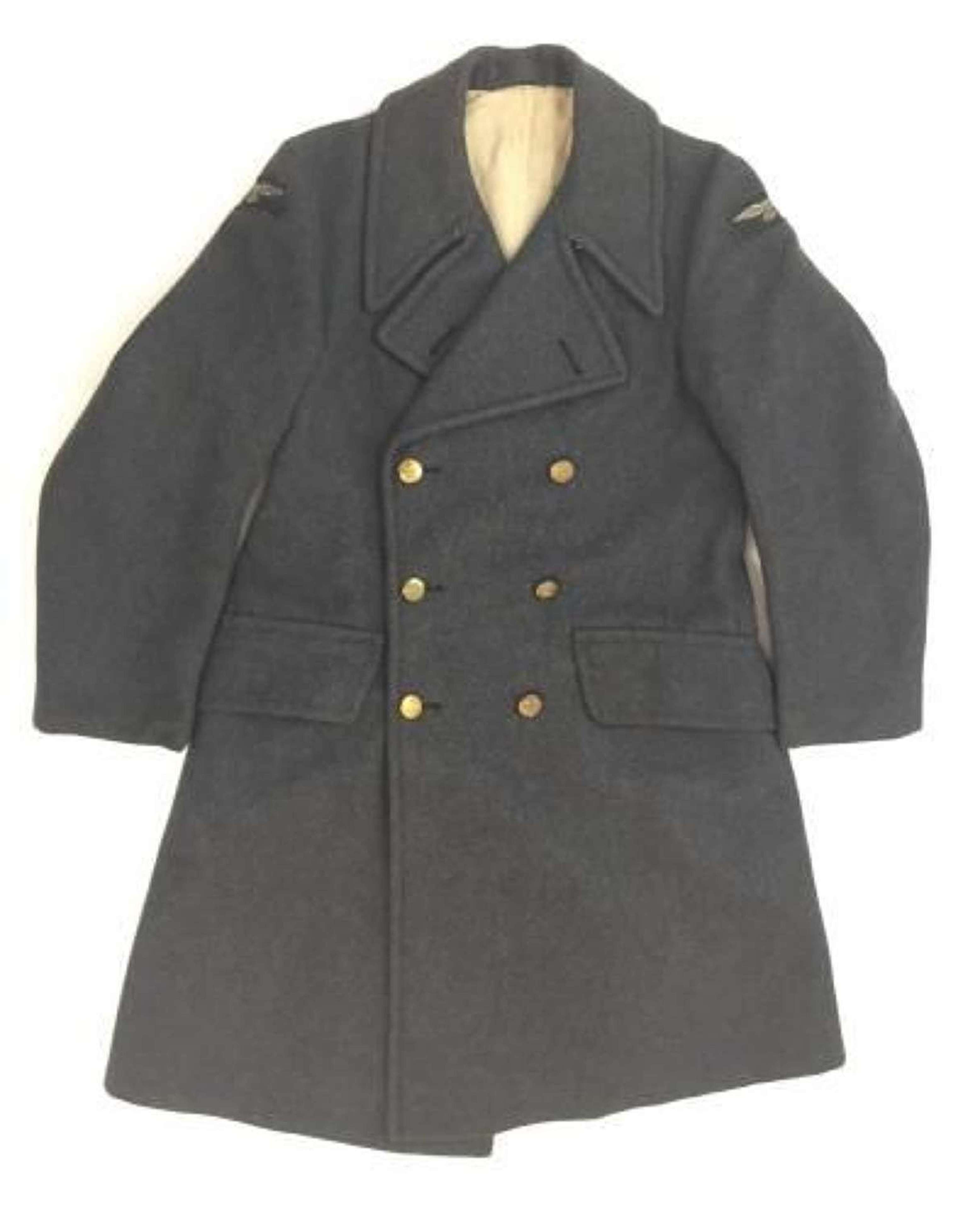 Original 1948 Dated RAF Ordinary Airman's Greatcoat - Size 2
