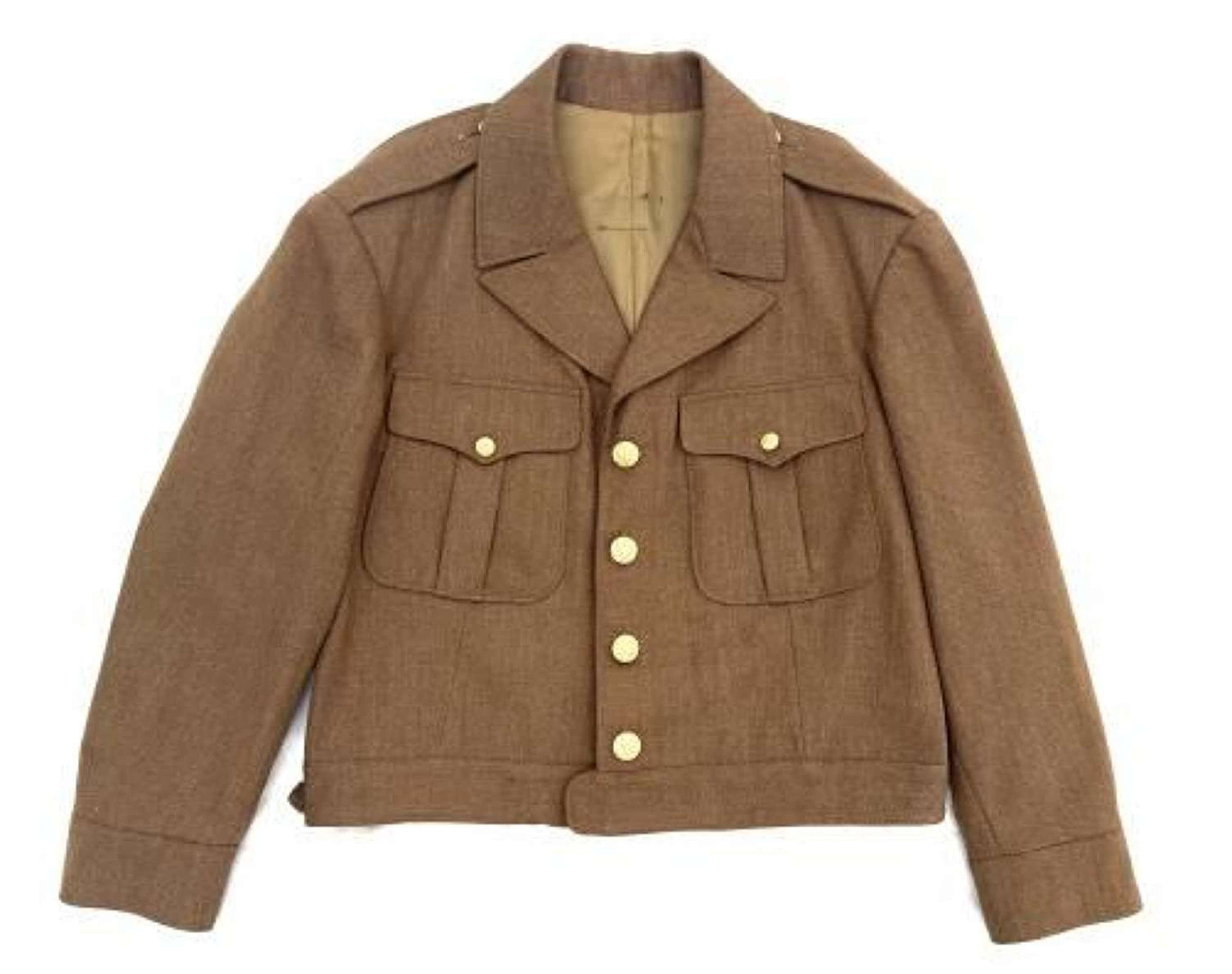 Original WW2 US Army Officers Private Purchase Ike Jacket