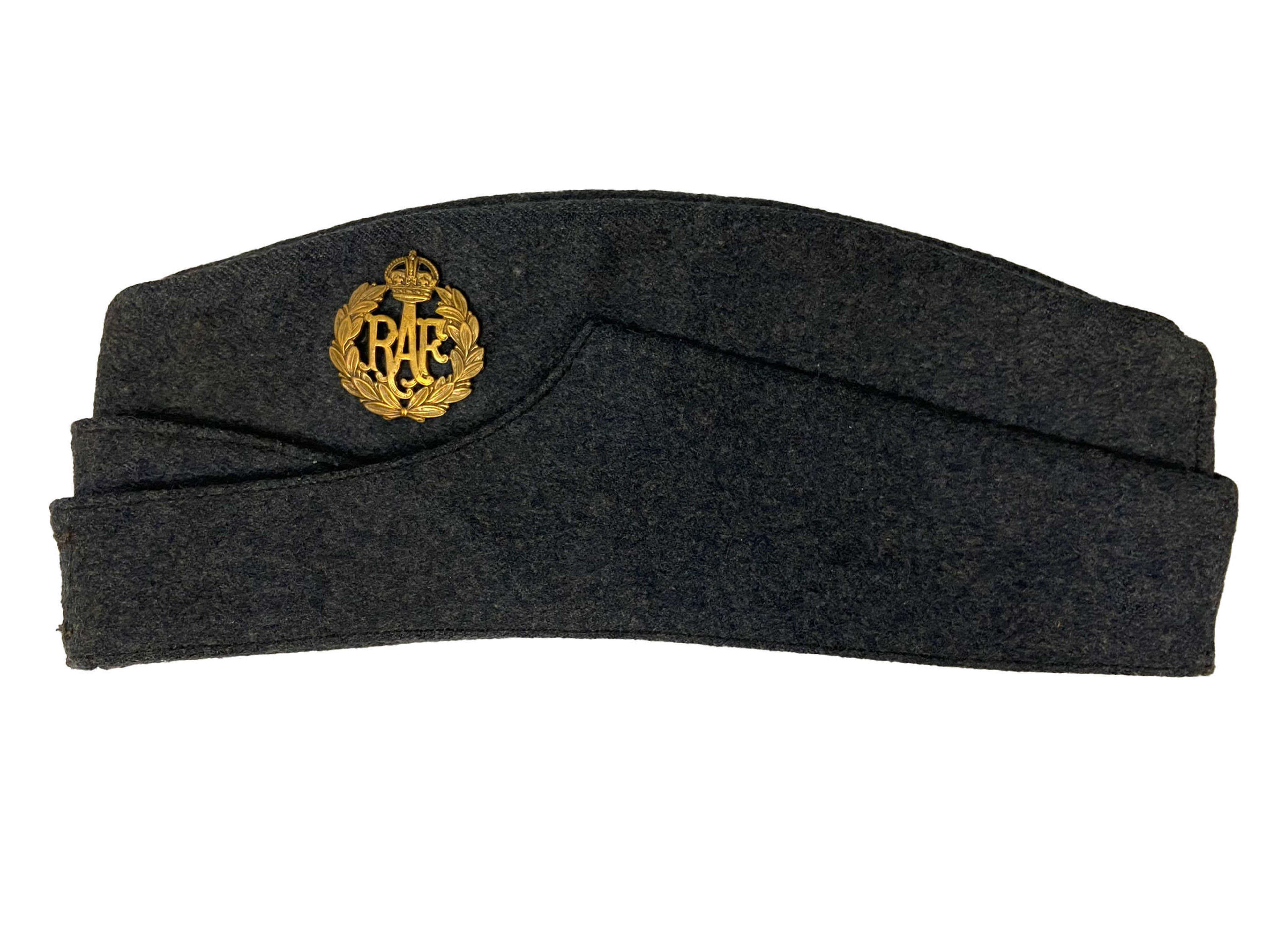 Original 1943 Dated RAF Ordinary Airman's Forage Cap