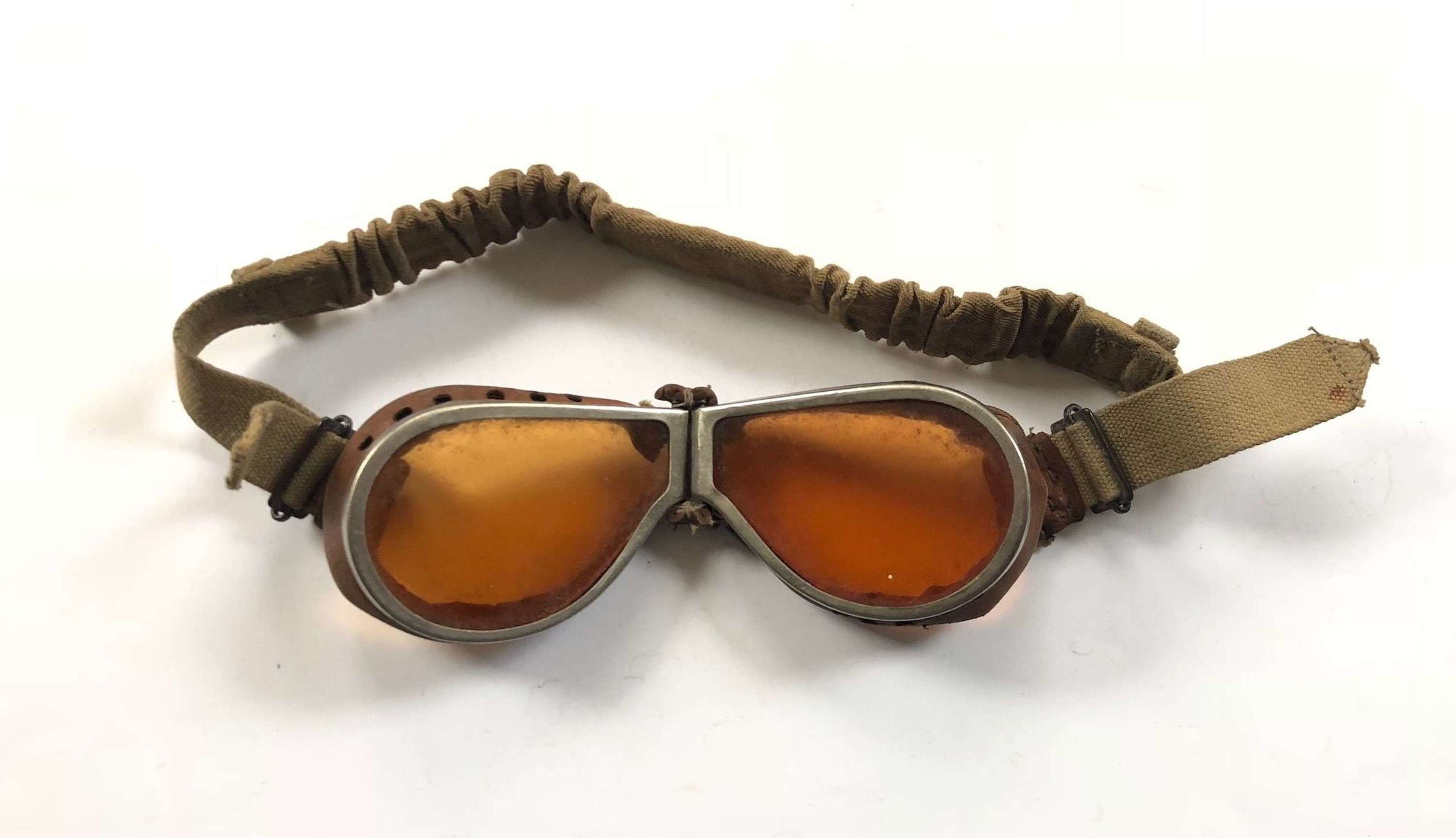 WW2 British Army MT / DR Dispatch Riders Goggles.