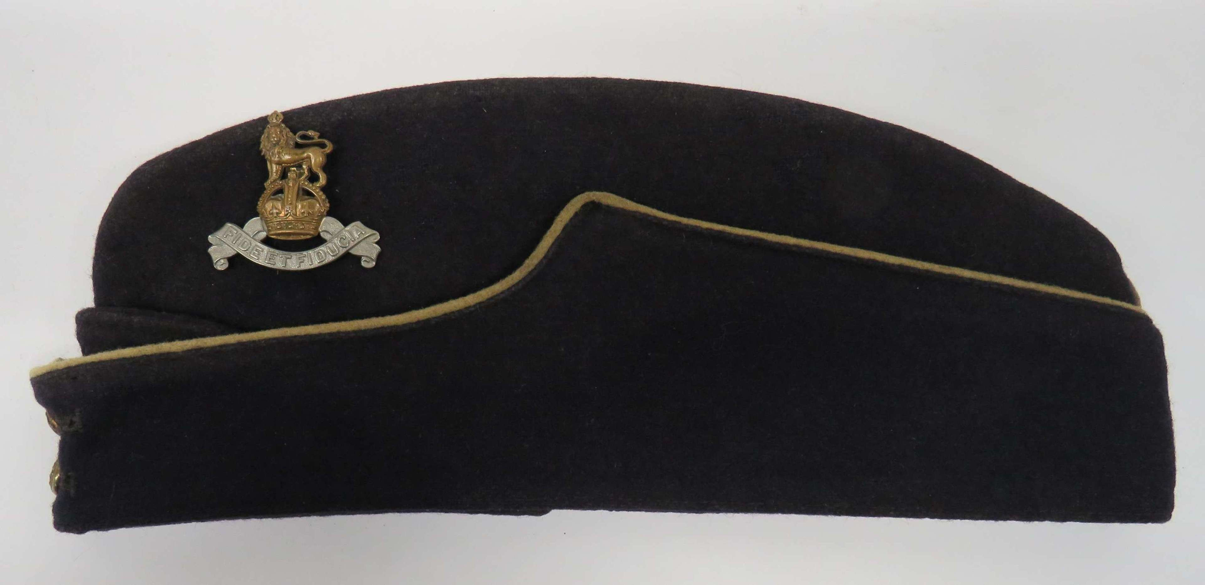 WW2 Royal Army Pay Corps Coloured Field Service Cap