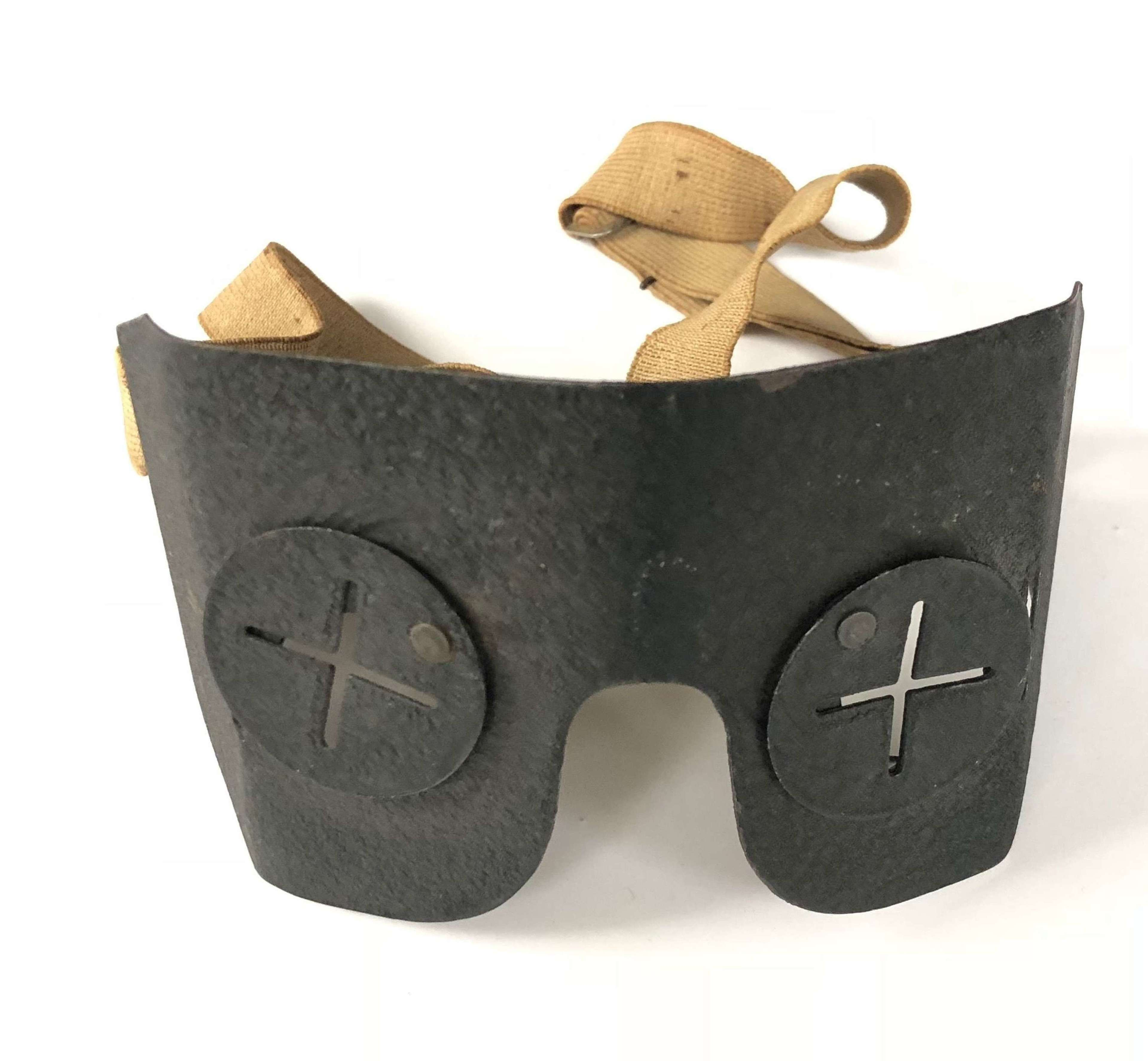 WW2 British Home Front Splinter Goggles.