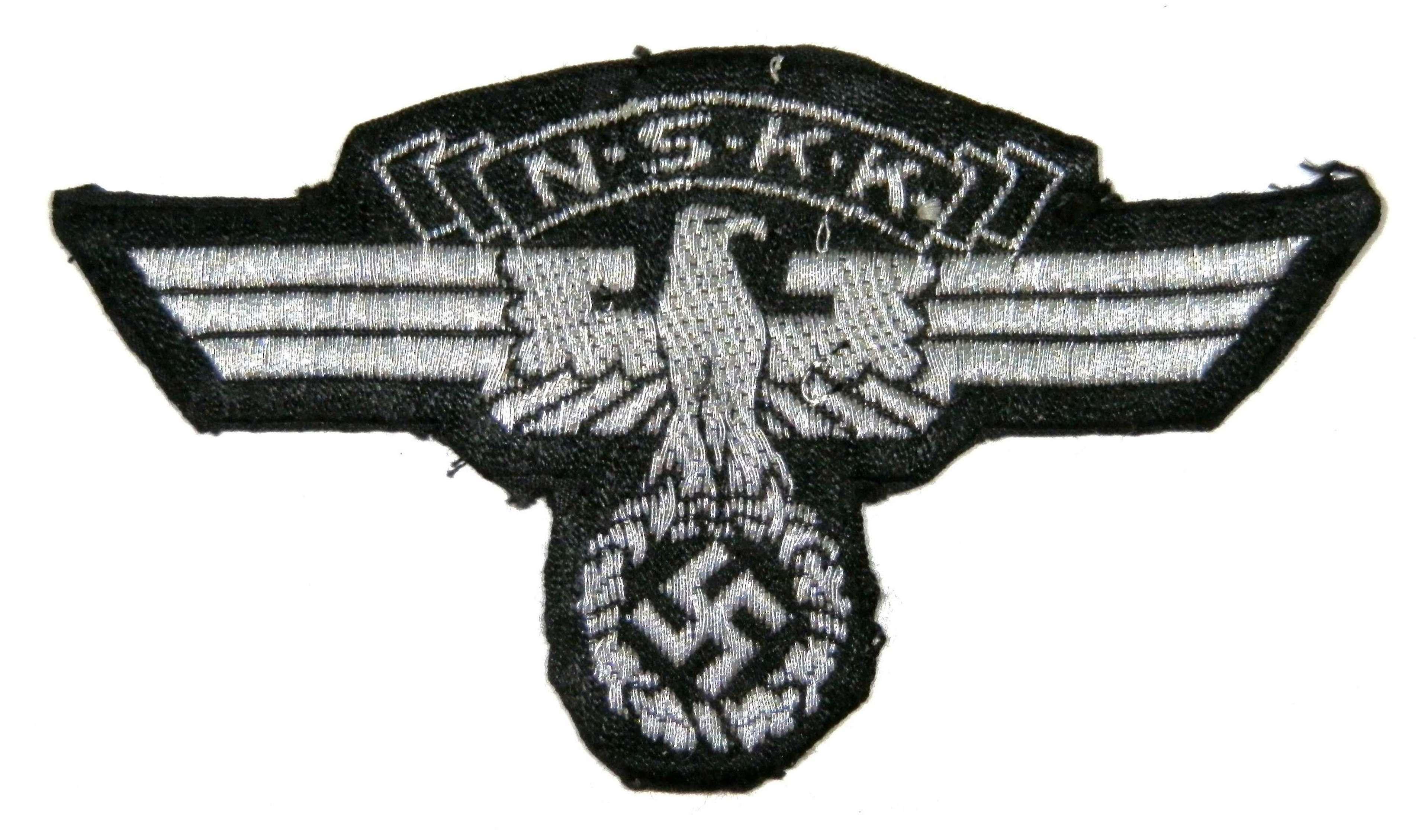 NSKK Reichs Transport Corps. Cap Insignia.