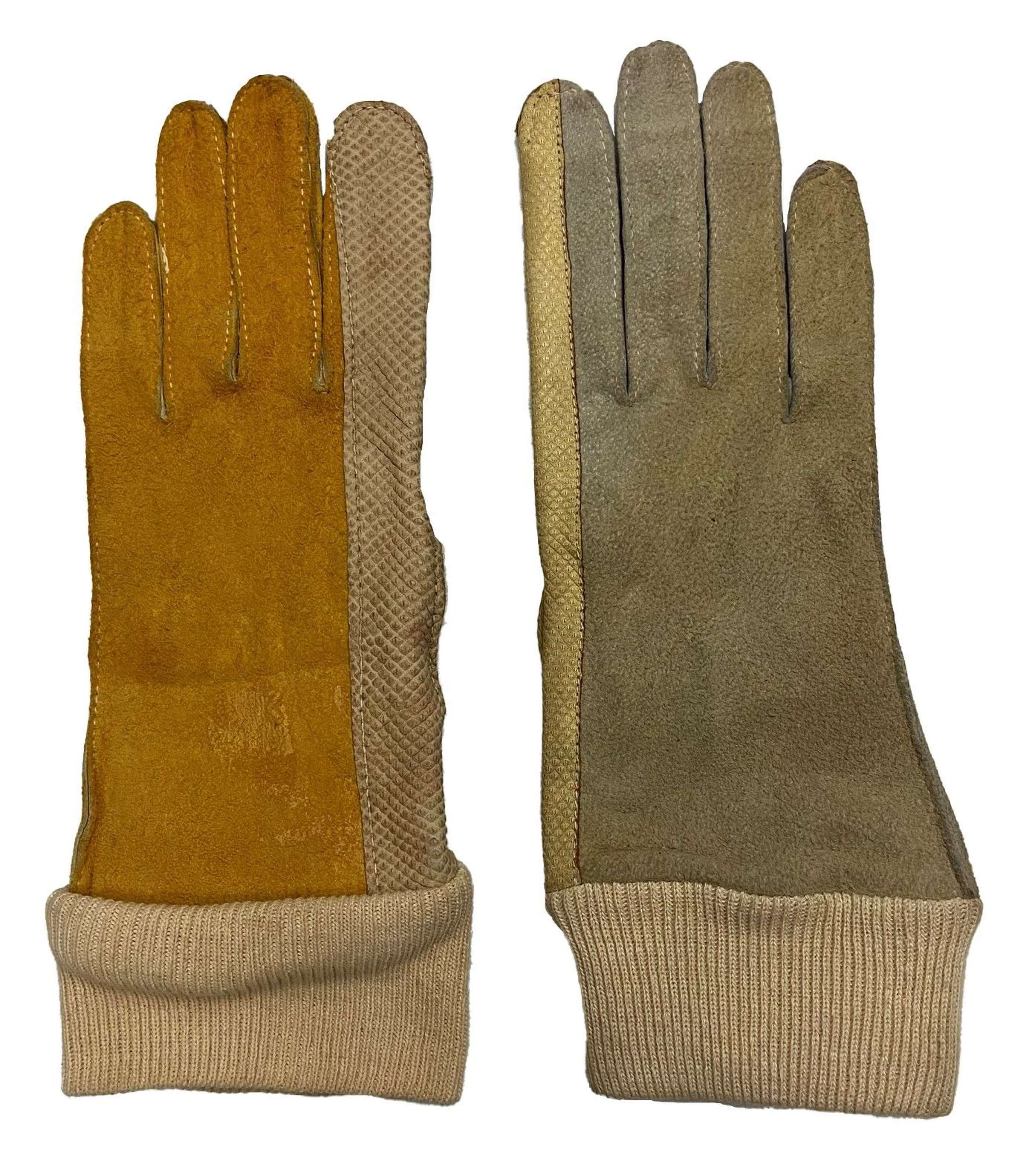 Original 1943 Dated ATS FANY Gloves