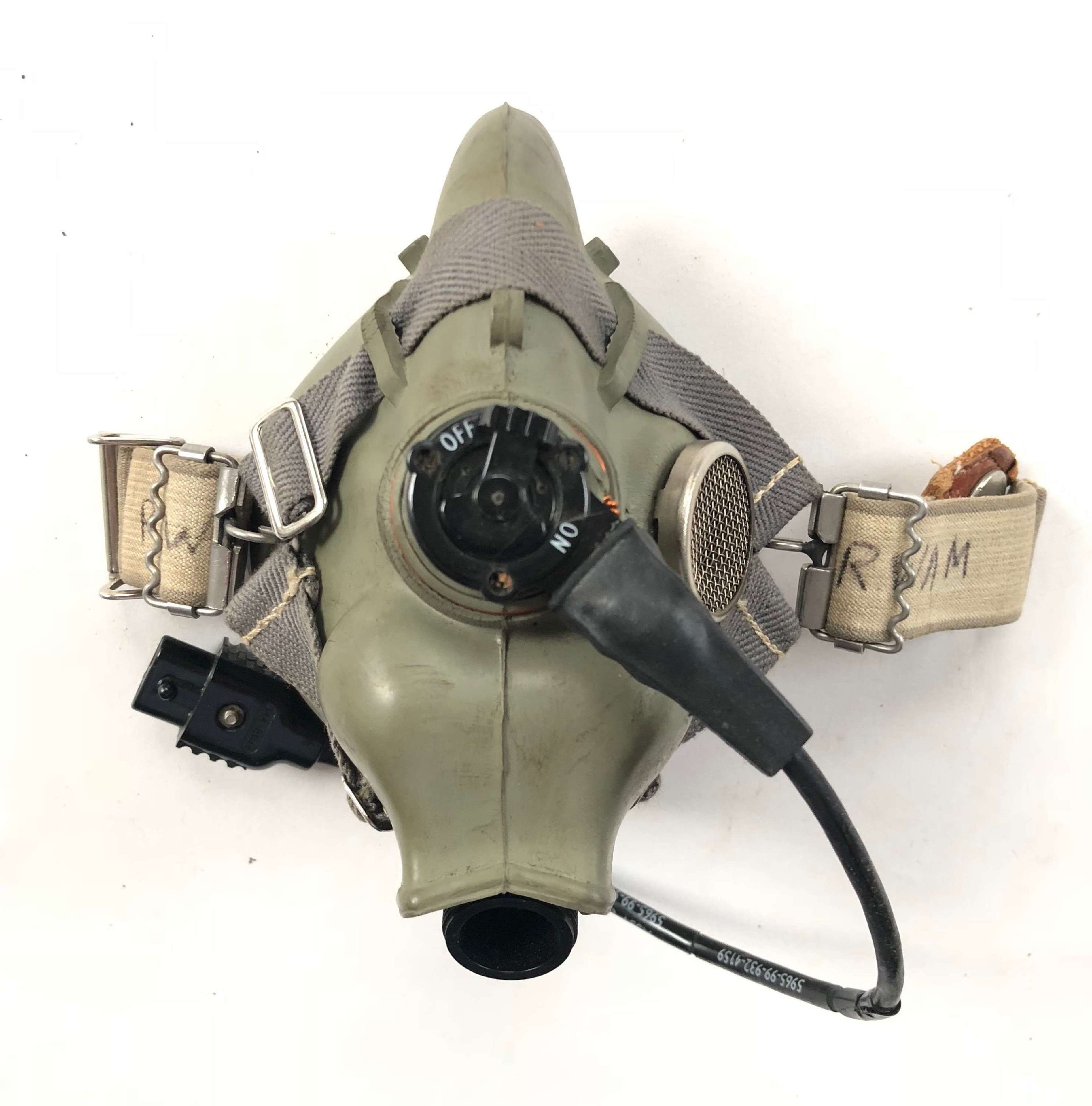 RAF Cold War Pattern H Type Oxygen Mask.