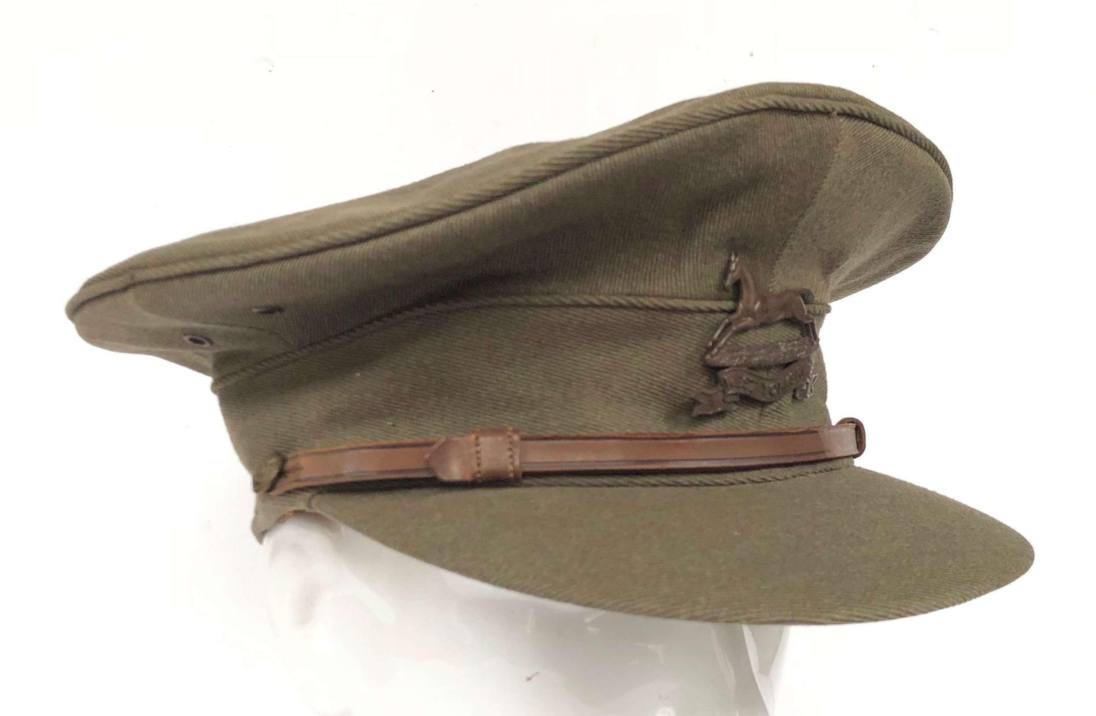 WW1 Period West Yorkshire Regiment Officer's Cap.