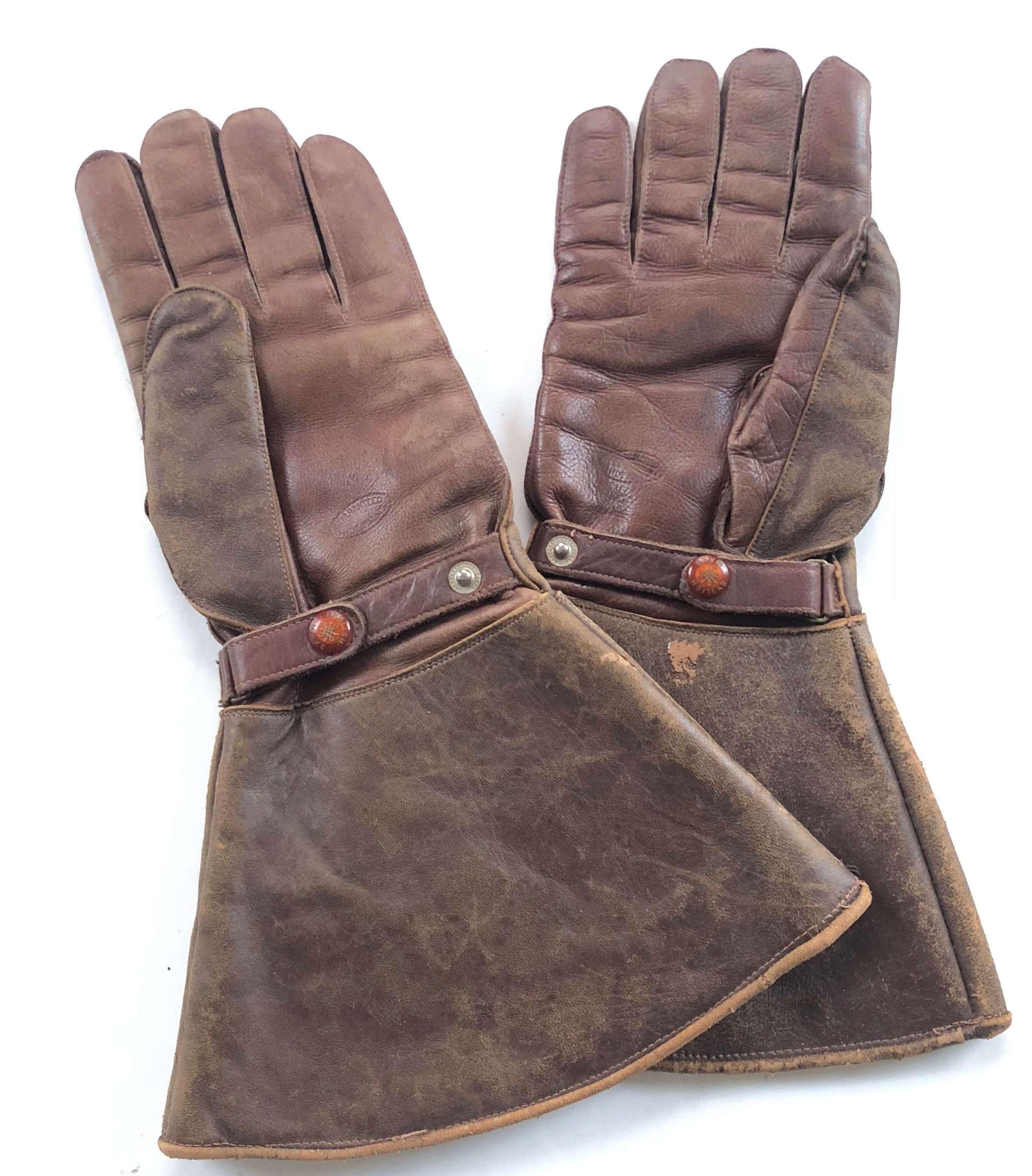 WW1 Pattern RFC, RNAS RAF Pattern Flying Gloves.