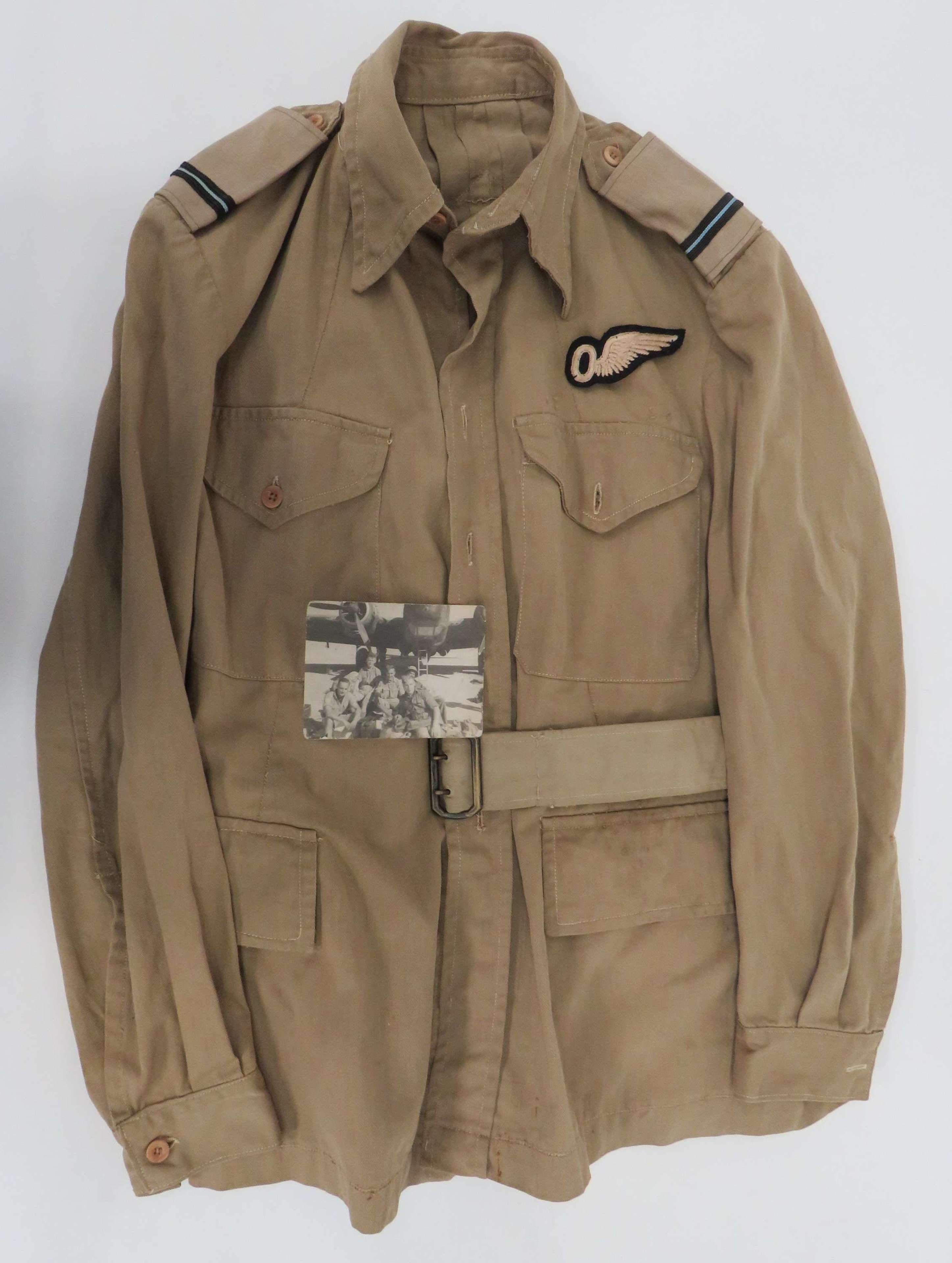 WW2 R.A.F Observers Tropical Tunic and Photo
