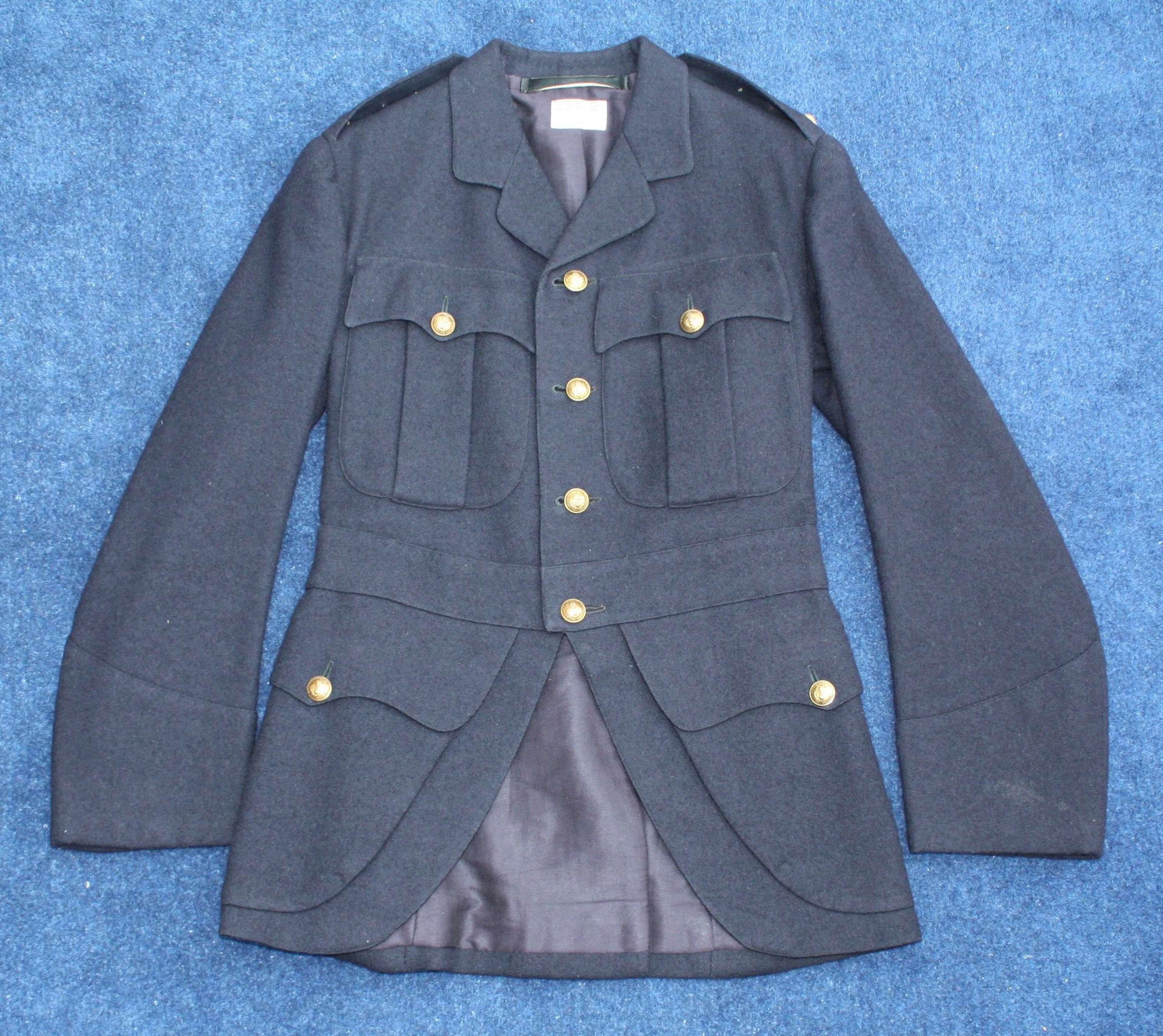 WW1 OFFICERS SCOTTISH PATTERN KITCHENER BLUE TUNIC