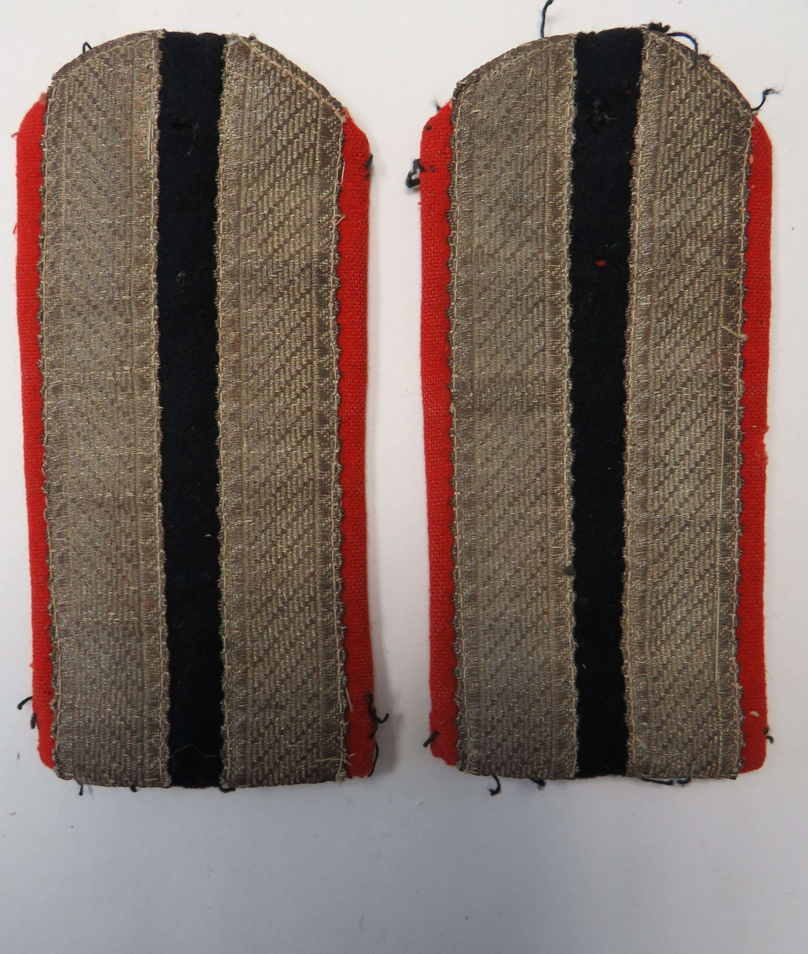 Pair of Continental Shoulder Straps