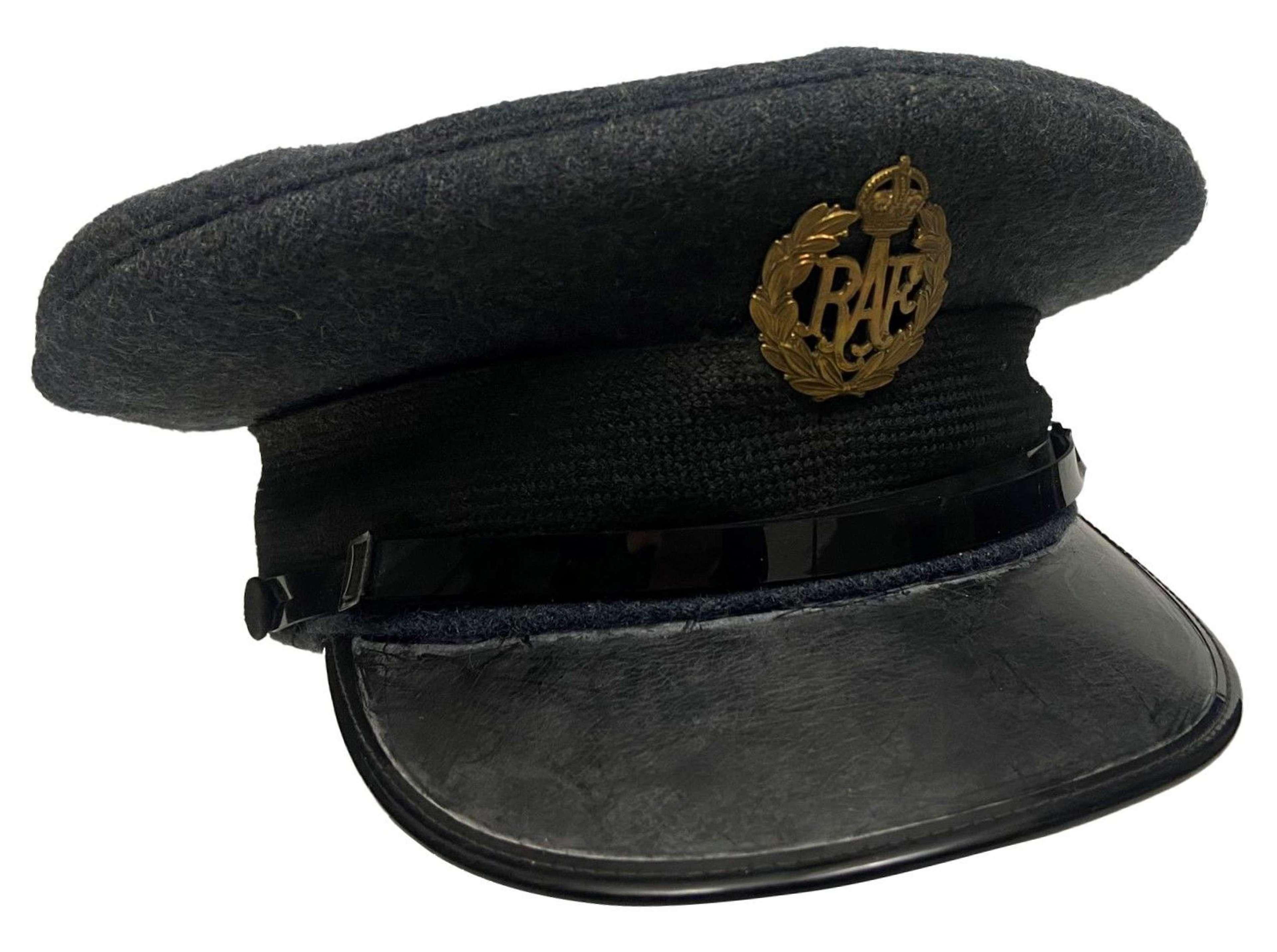Original 1954 Dated RAF Ordinary Airman's Peaked Cap