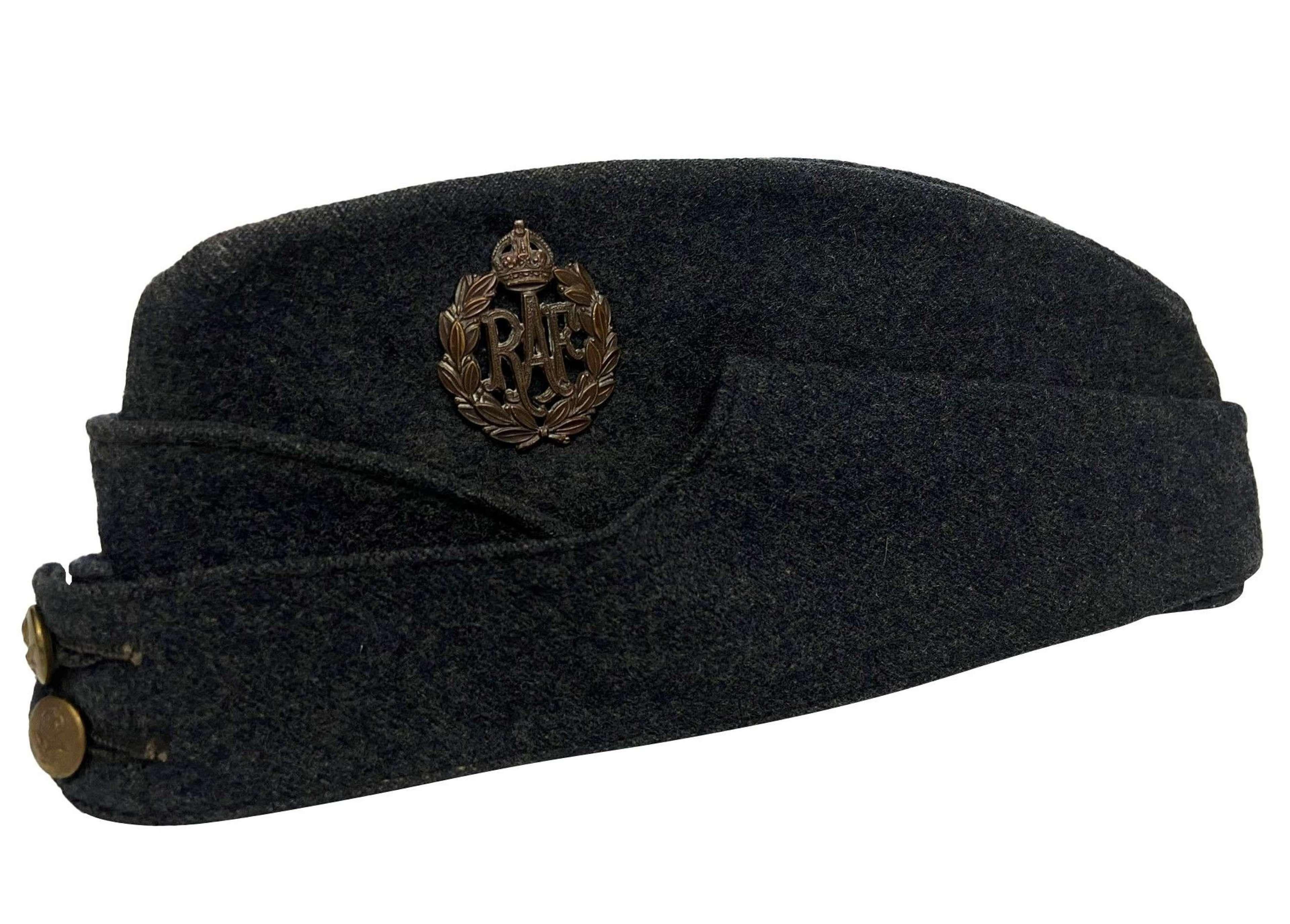 Original 1942 Dated RAF Ordinary Airman's Forage Cap