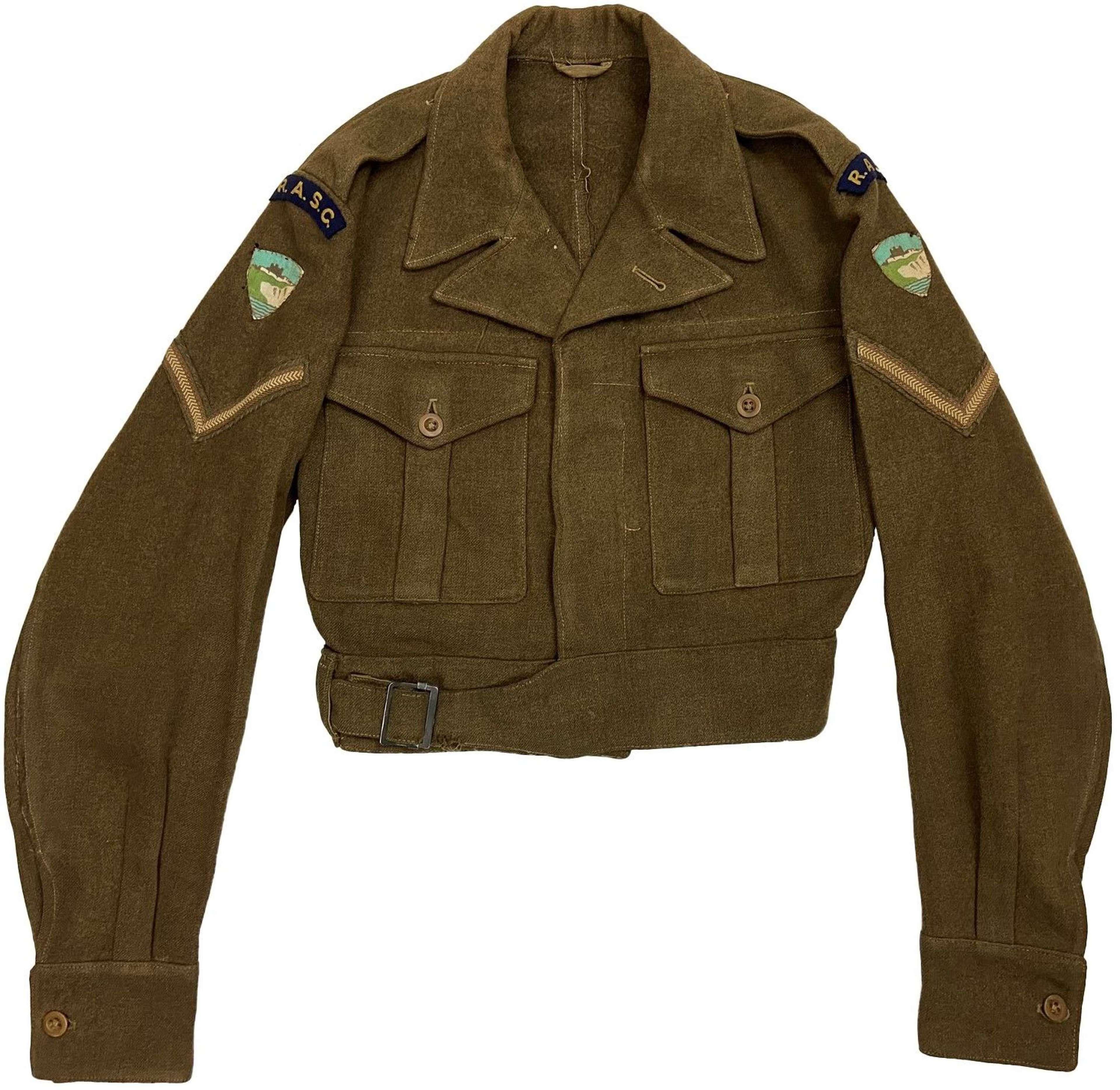 Original 1949 Dated 1947 Pattern RASC Battledress Blouse