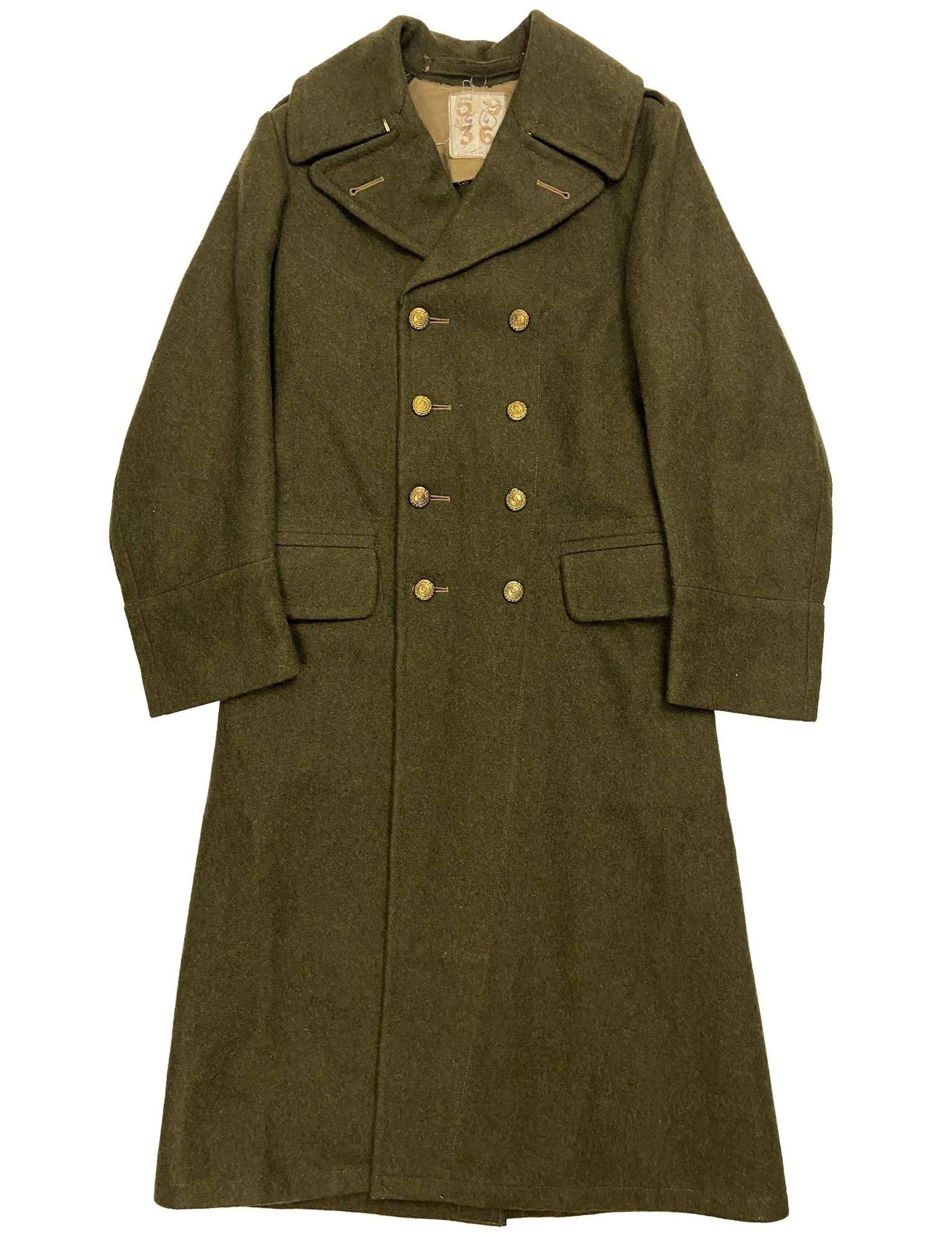 Original WW2 Royal Marines Greatcoat