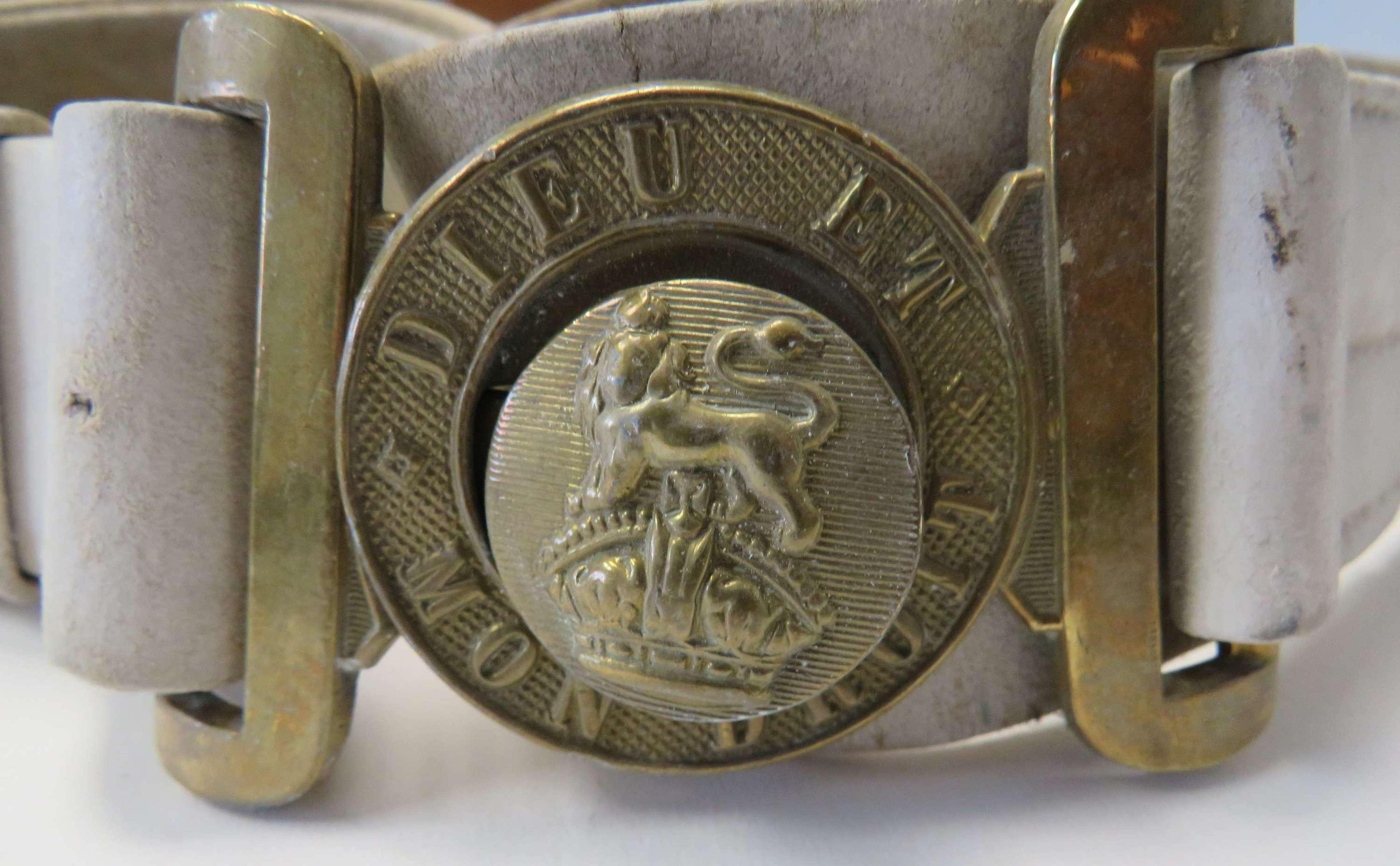 Post 1901 Kings Crown Slade wallace Walking Out Belt