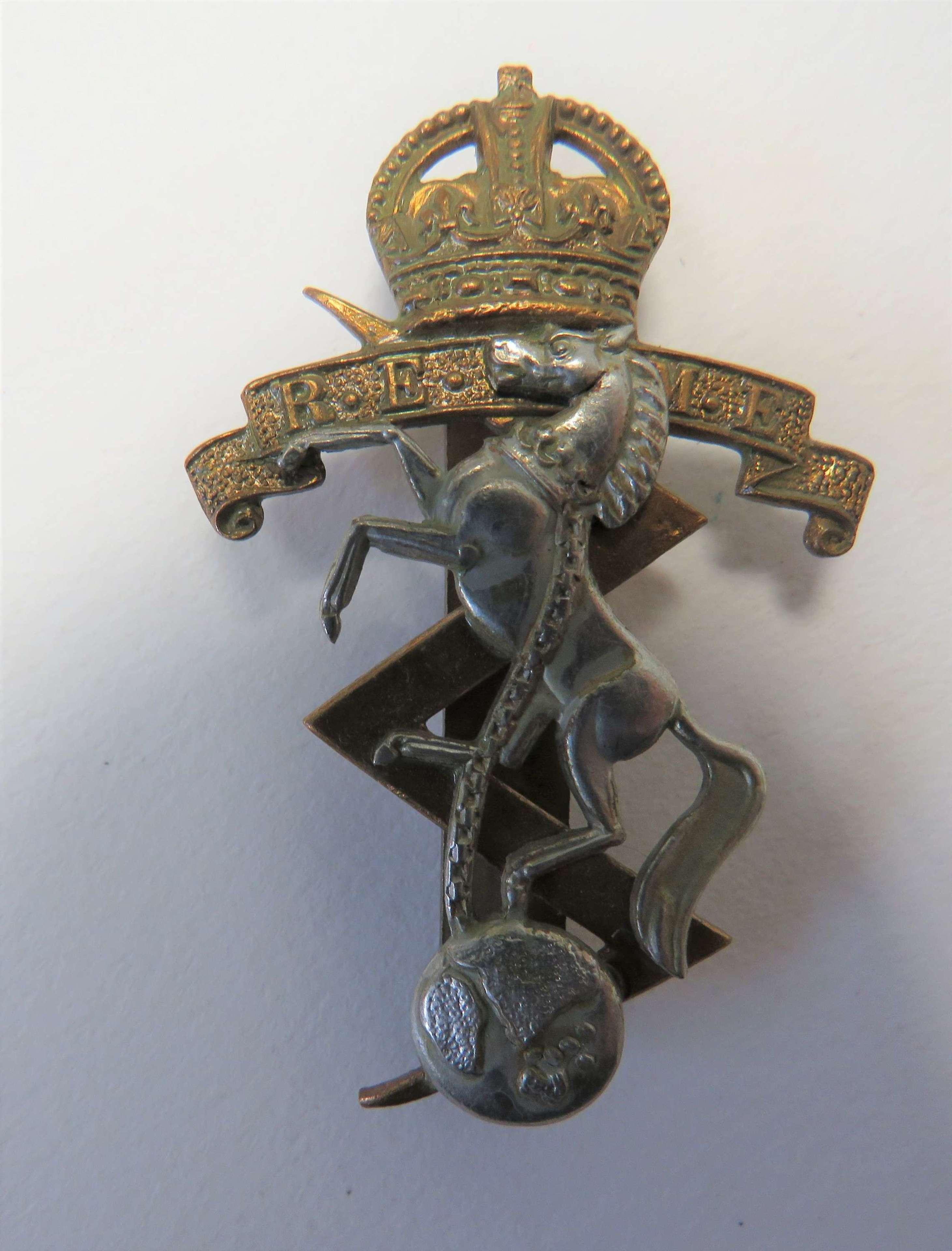 Pre 1952 R.E.M.E Cap Badge