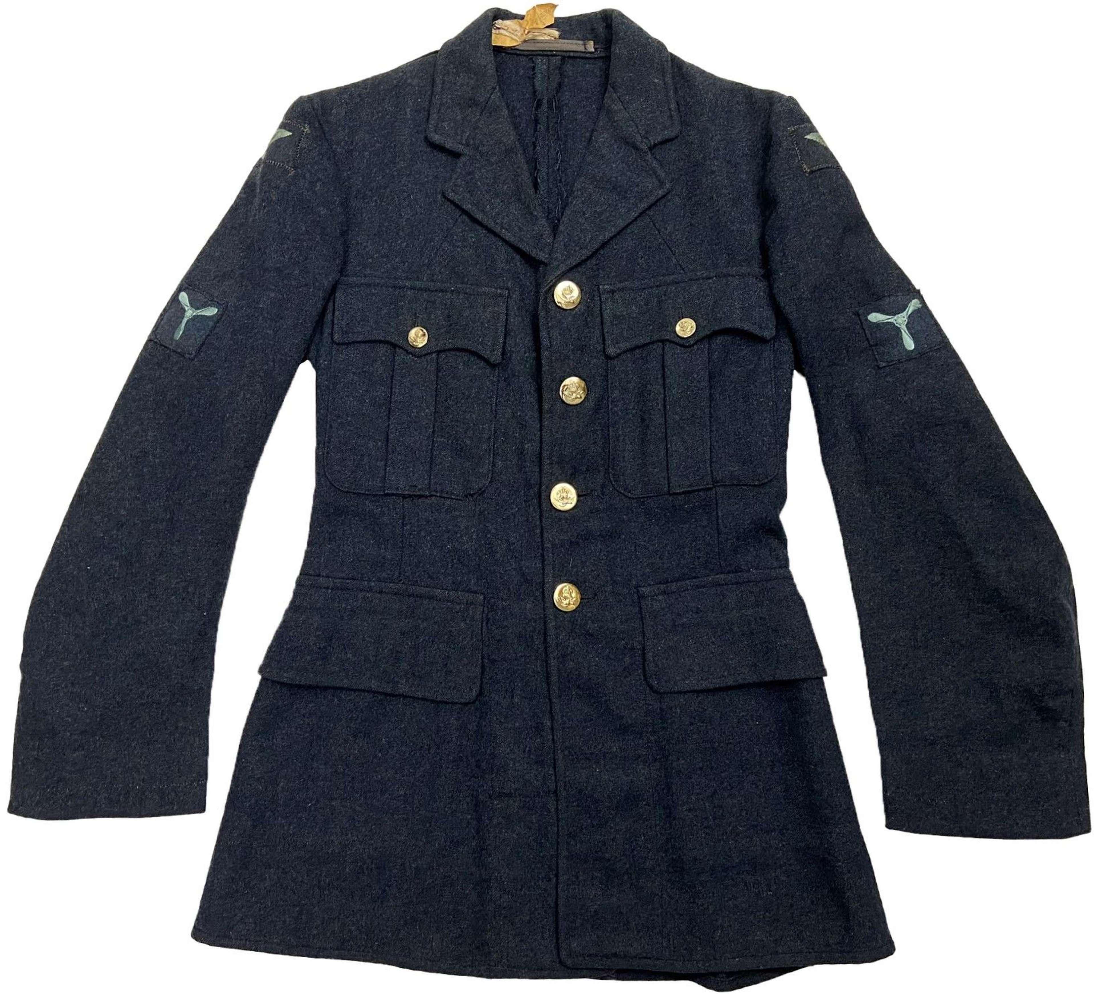 Original 1952 Dated RAF Ordinary Airman's Tunic - Size 13