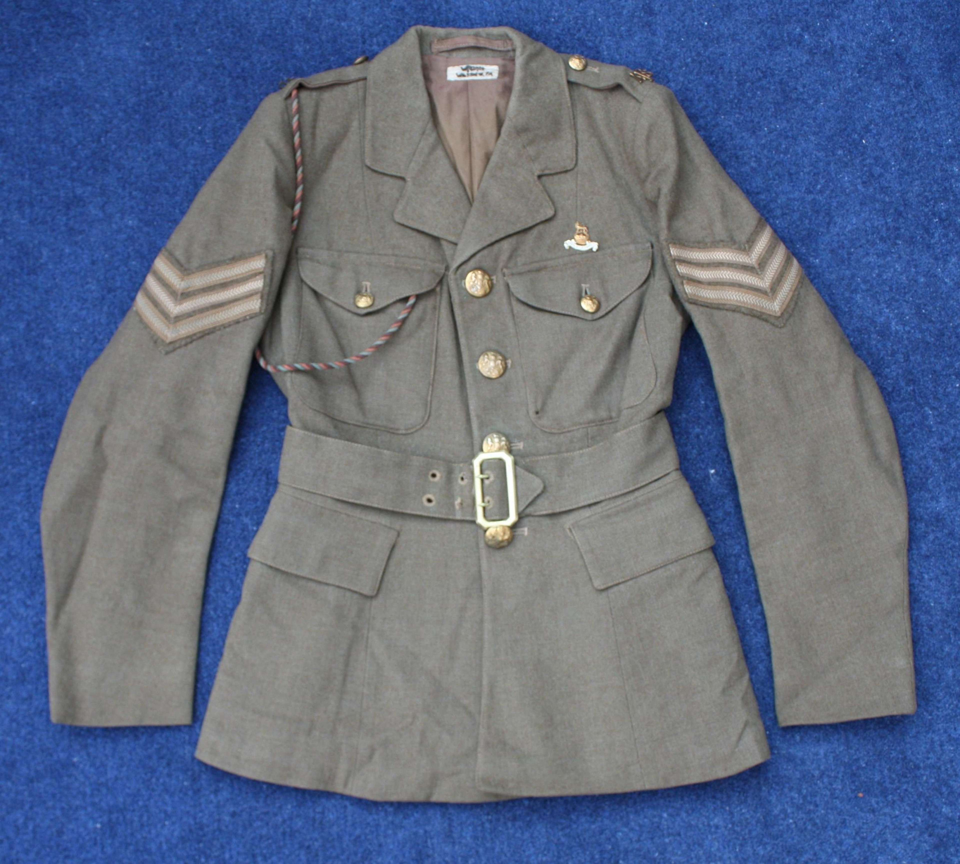 WW2 ATS WOMEN'S 'AUXILIARY TERRITORIAL SERVICE' 1943 DATED TUNIC