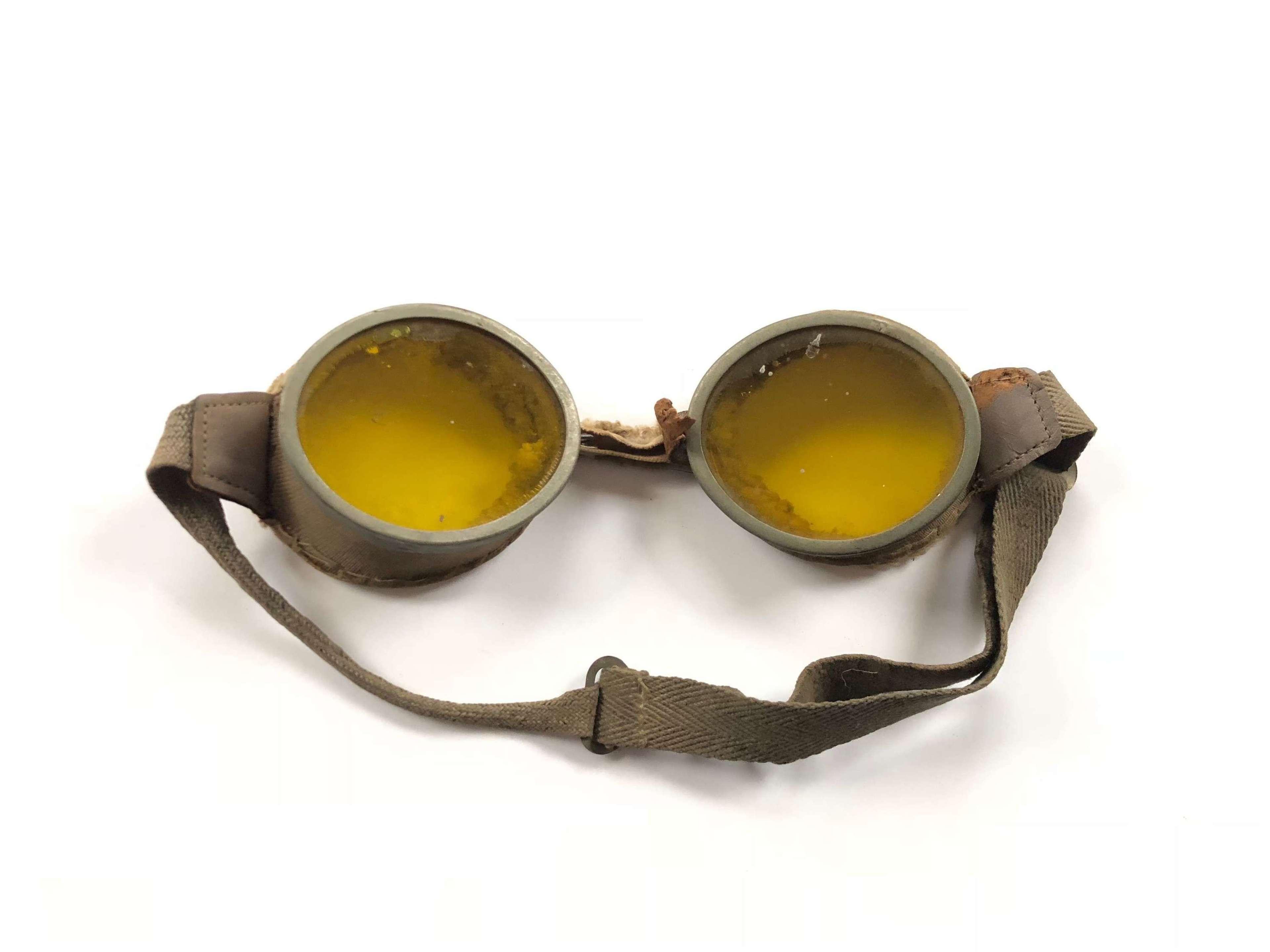 WW2 British Army Issue Goggles.