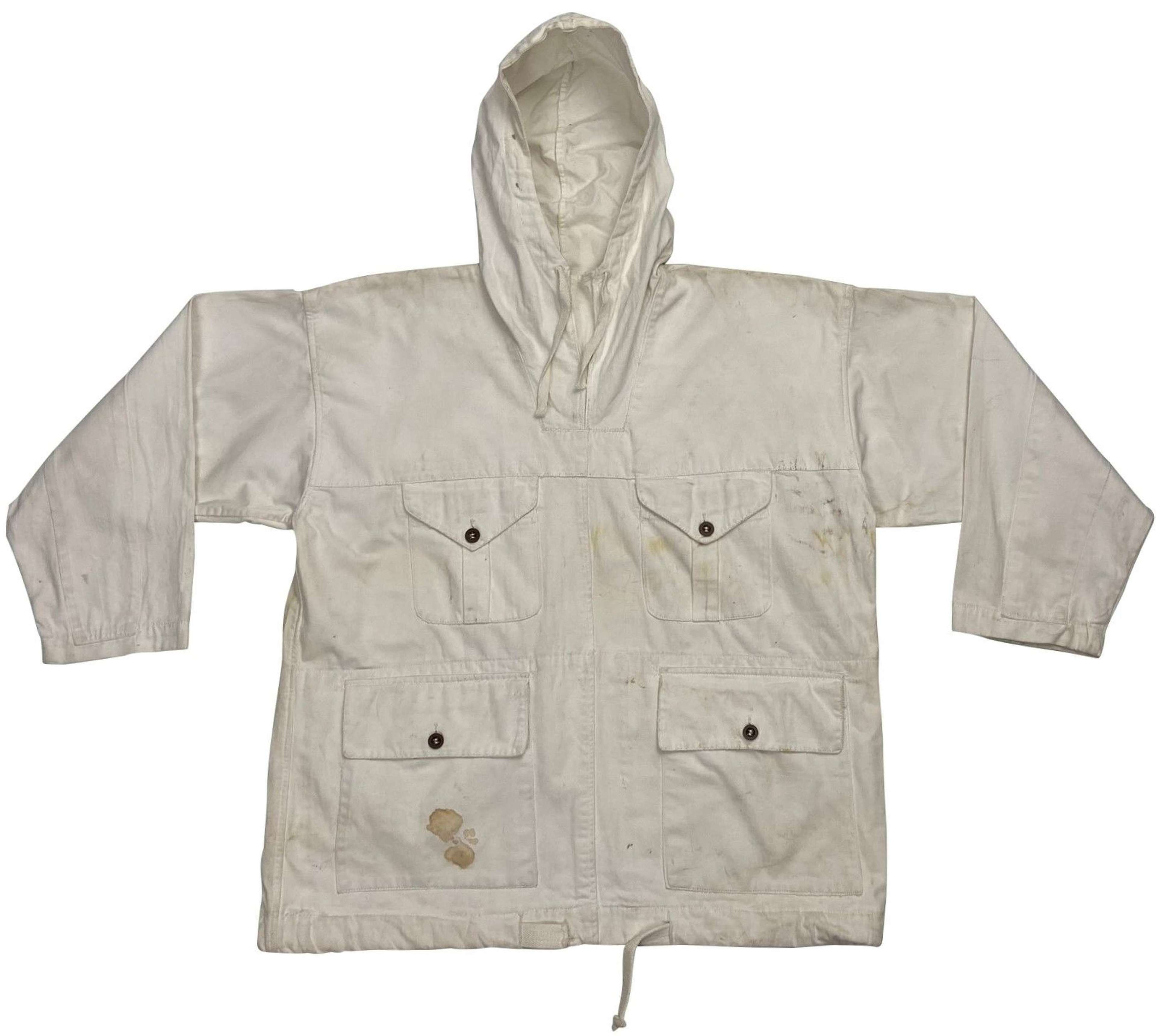 Original 1942 Dated British Army Snow Smock