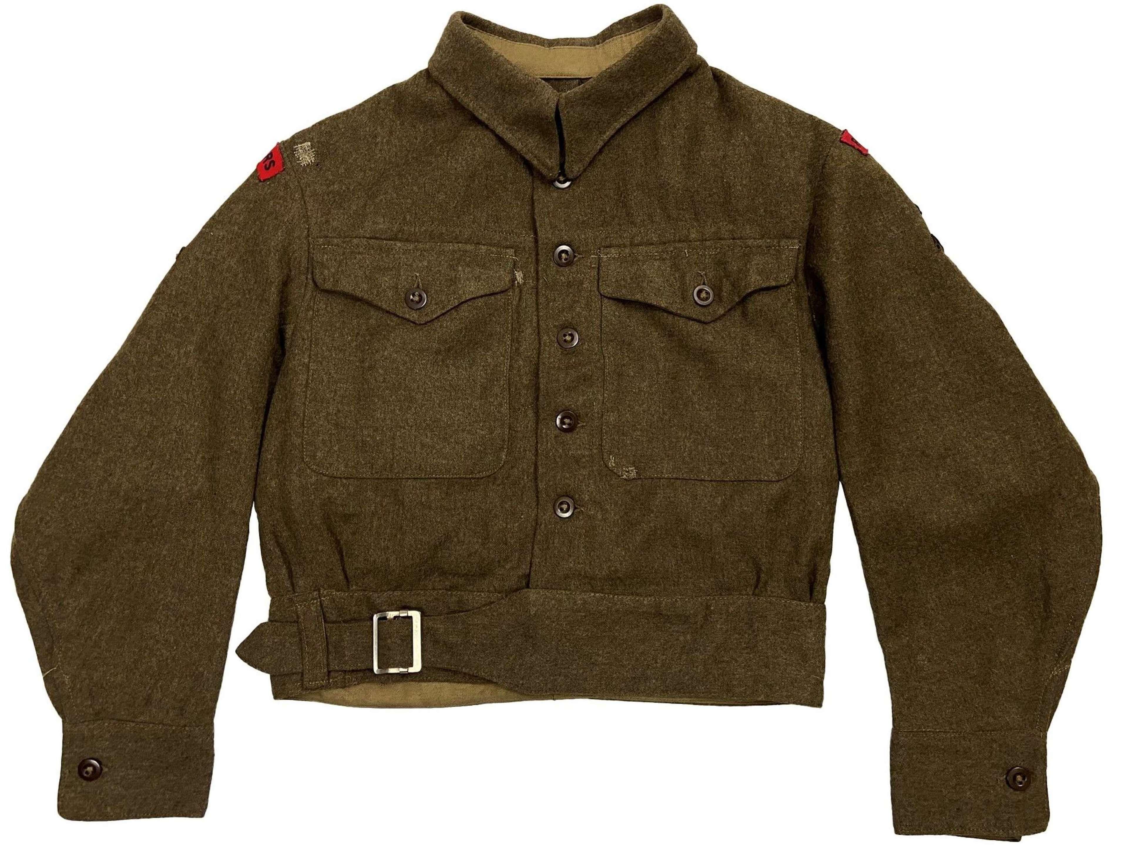 Original 1942 Dated 51st Highland Royal Engineers Battledress Blouse