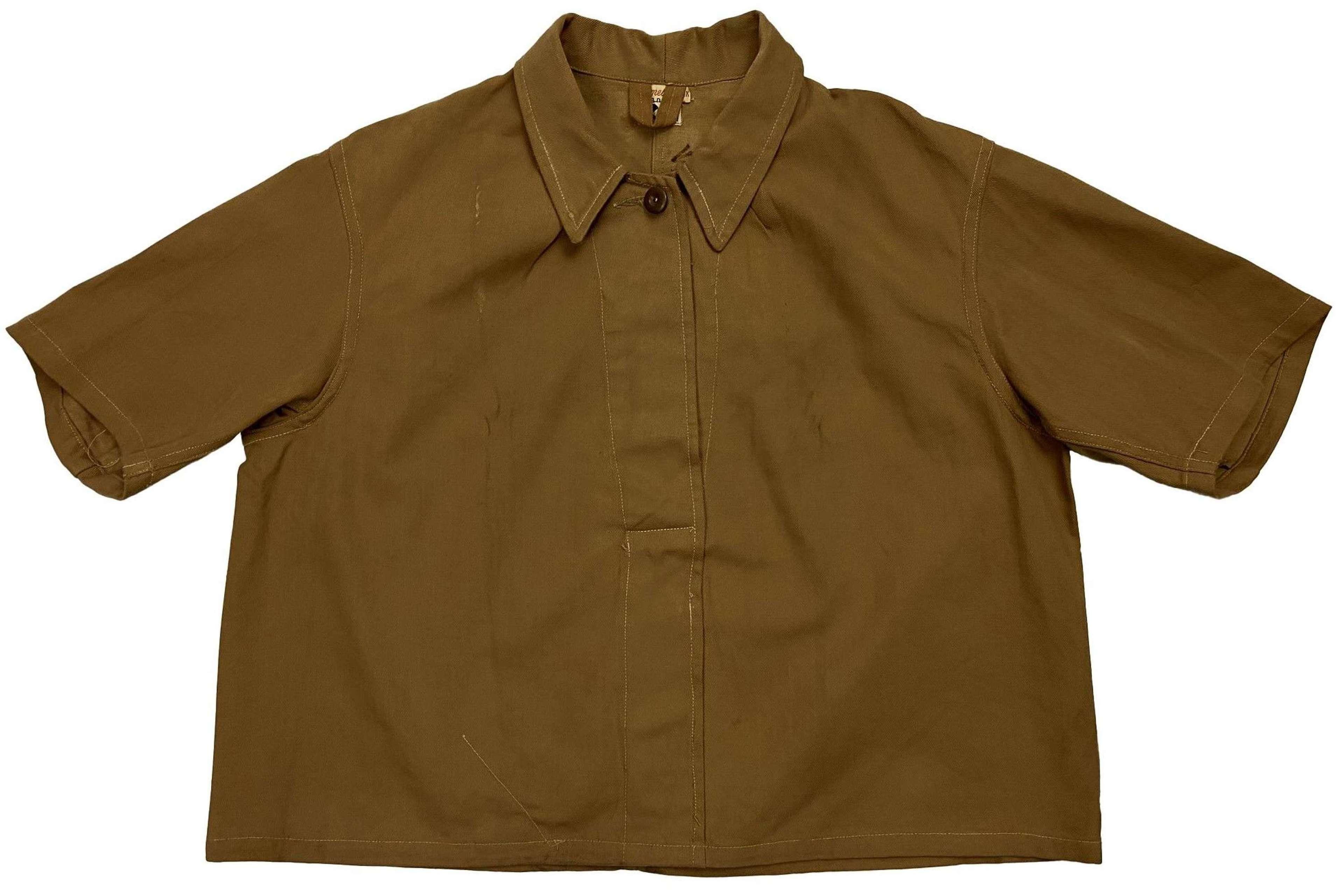 Original 1940s CC41 Factory Workers Workwear Bolero Top by 'Leader'