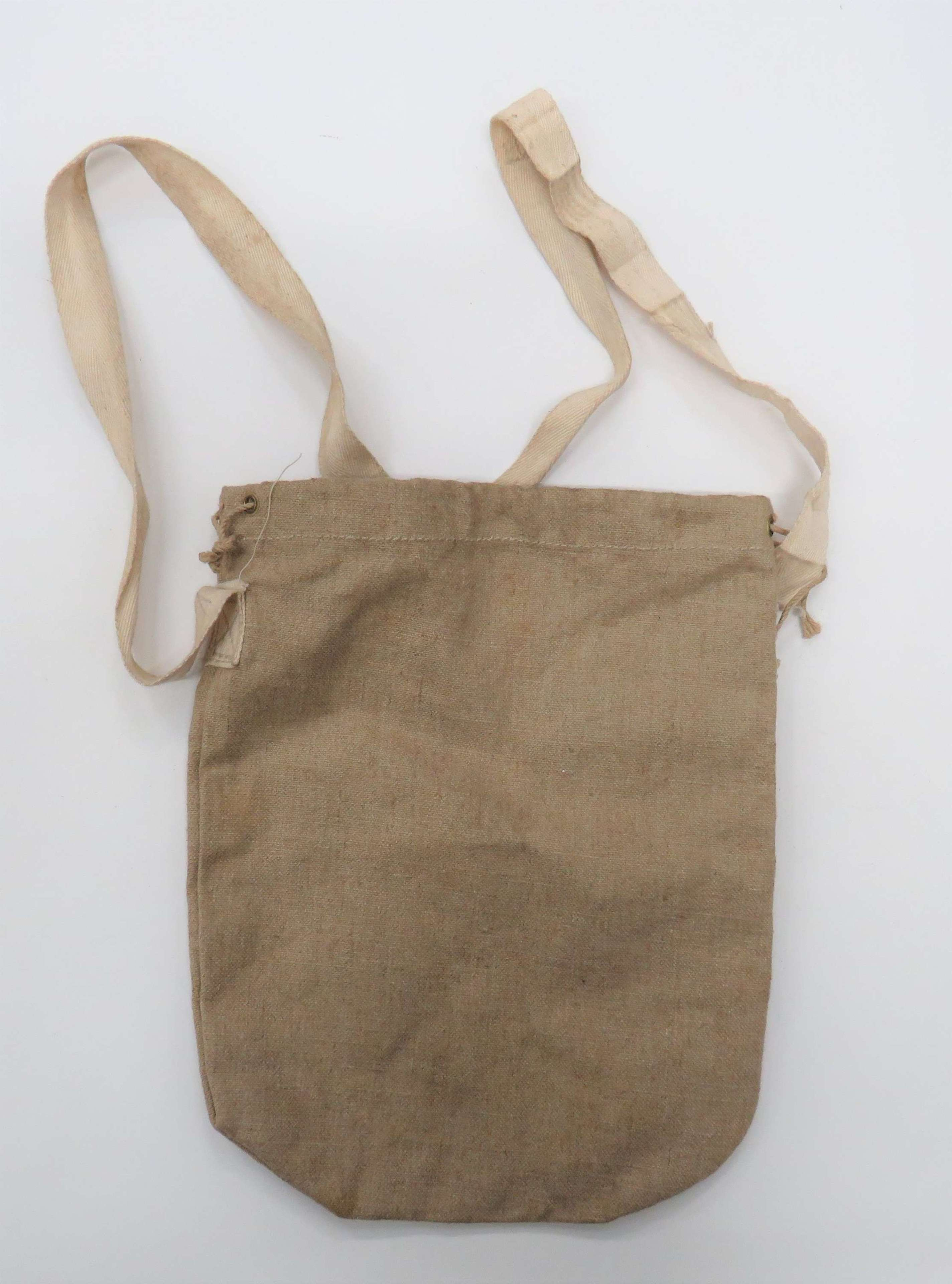 WW2 Civil Defence Respirator Bag