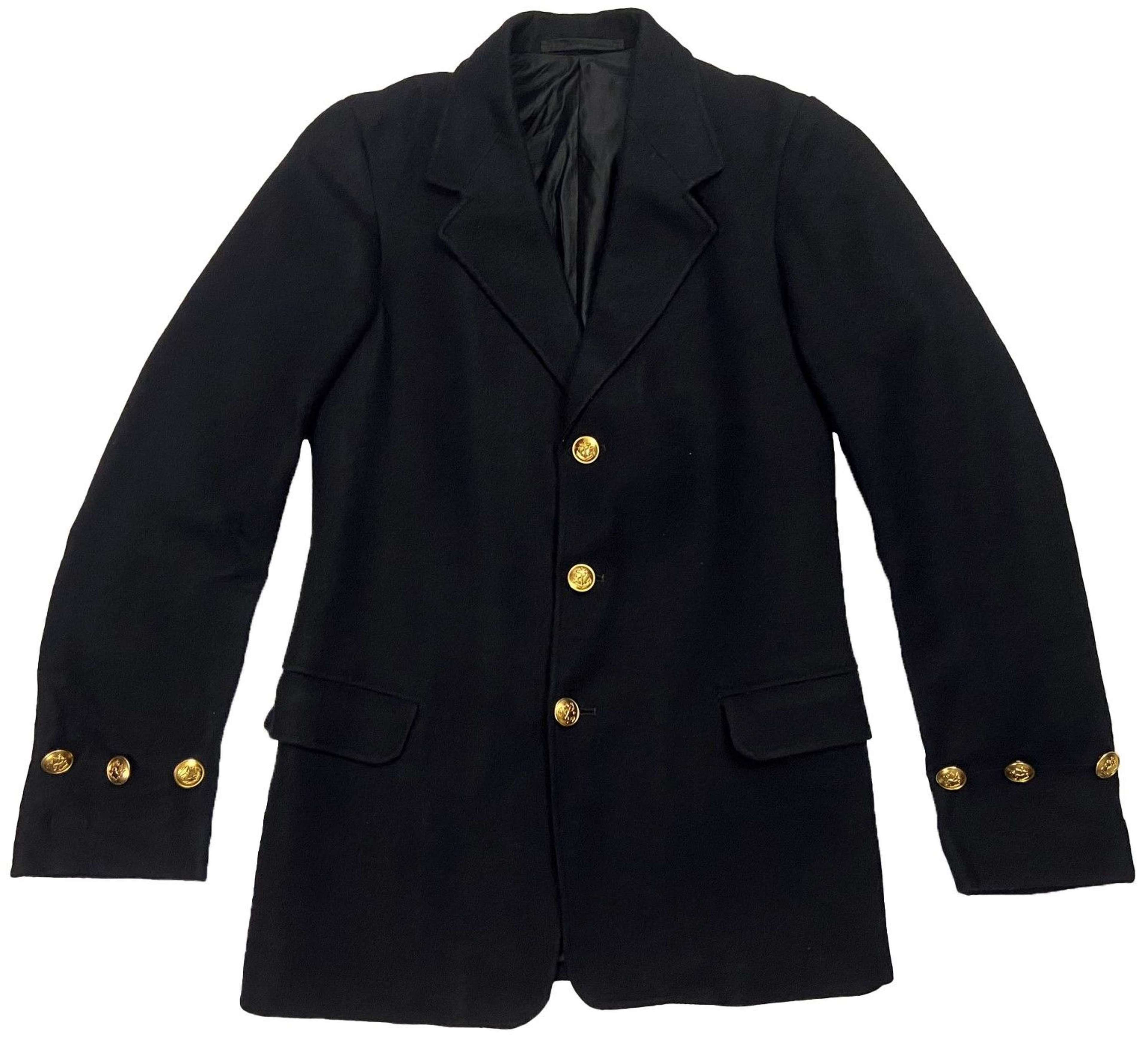 Original WW2 RN Chief Petty Officers Single Breasted Serge Jacket