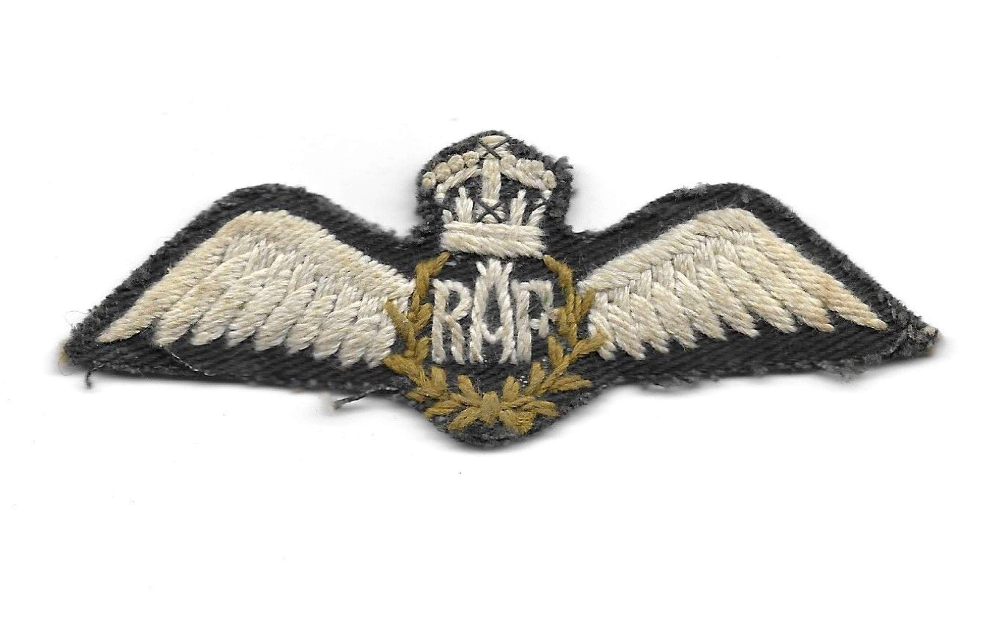 Original WW2 RAF Indian Made RAF Pilots Wings