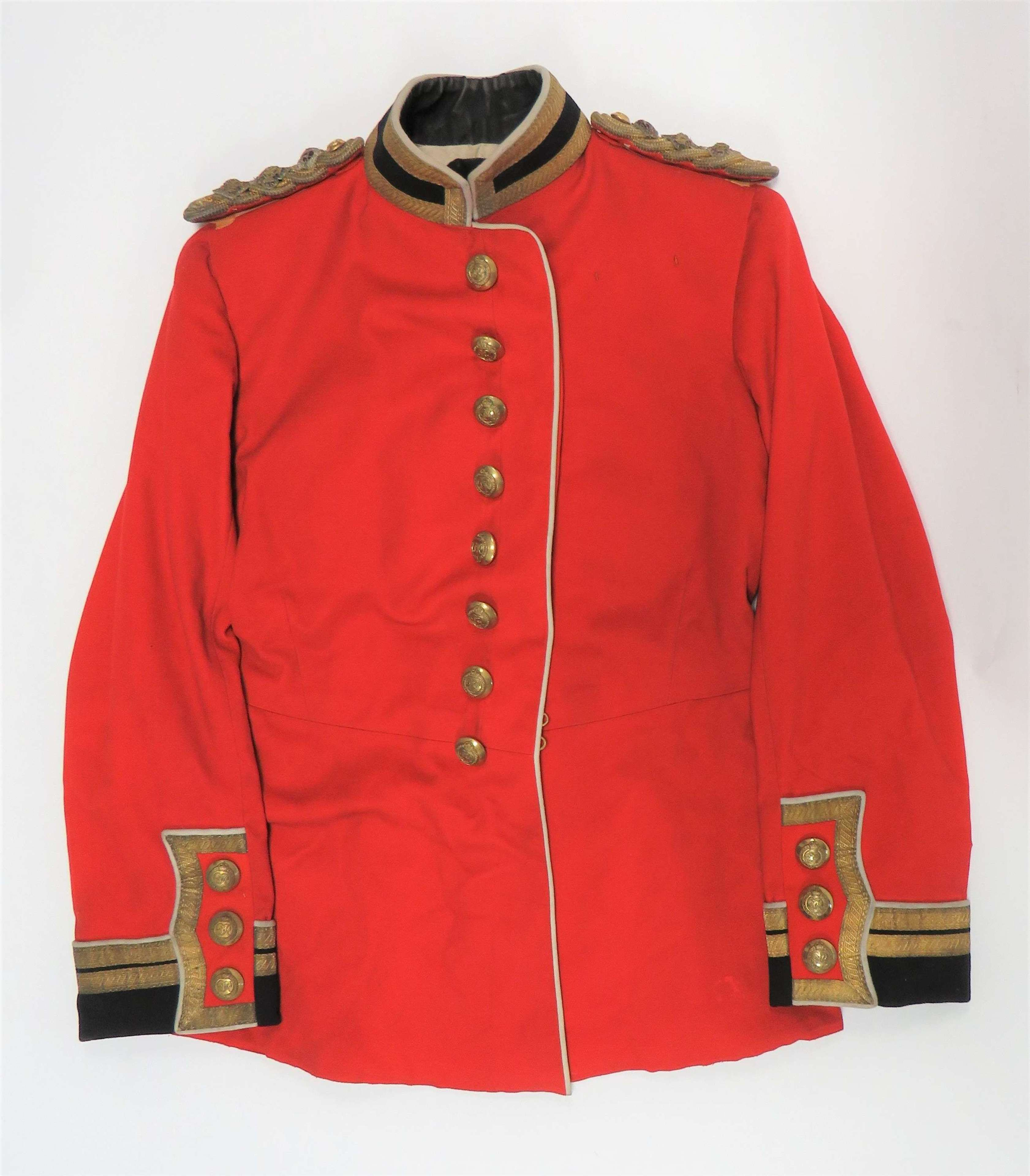 Post 1936 Staff Colonels Officers Scarlet Dress Tunic