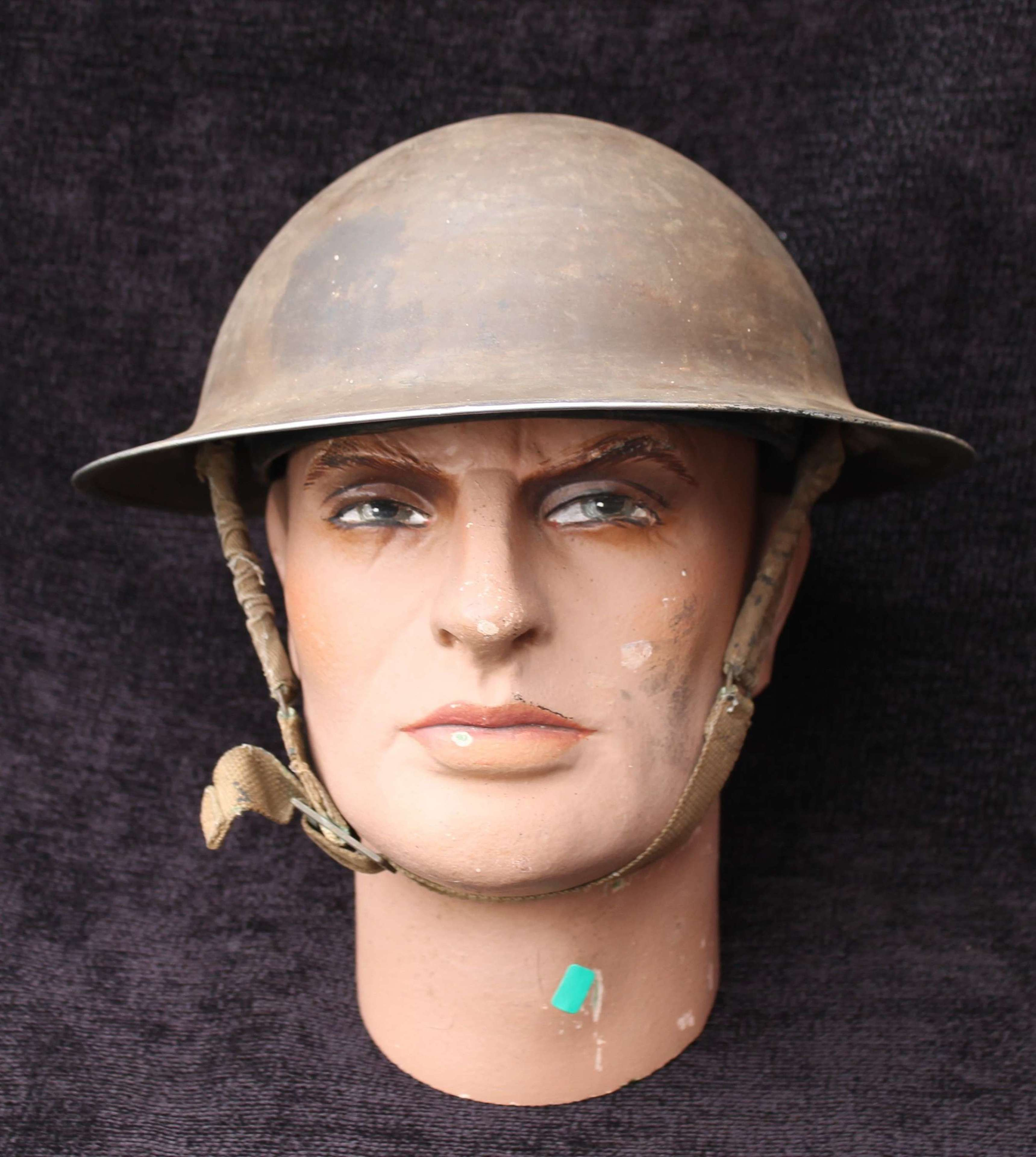 British MK II Steel Helmet