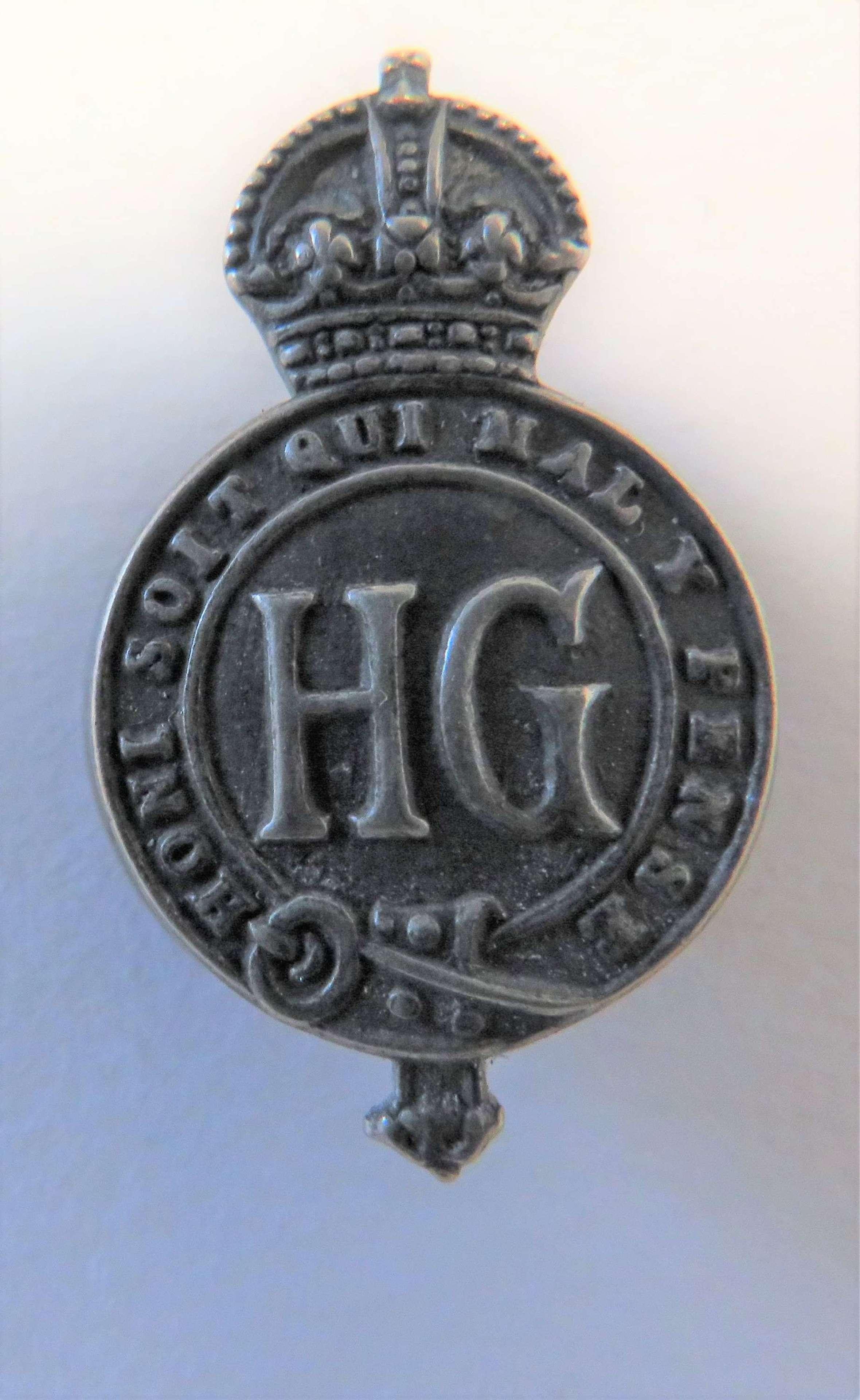 Home Guard Small Size Lapel Badge